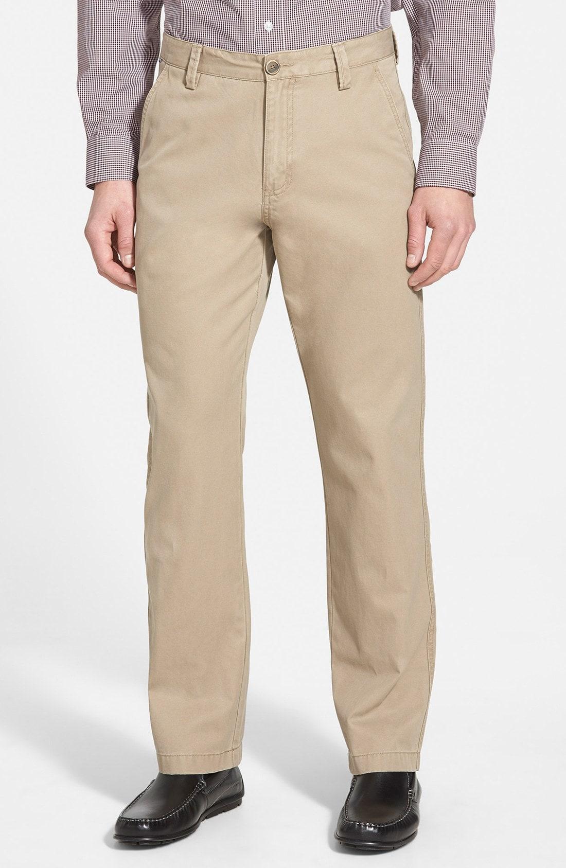Cutter & Buck 'Beckett' Straight Leg Washed Cotton Pants (Online Only)