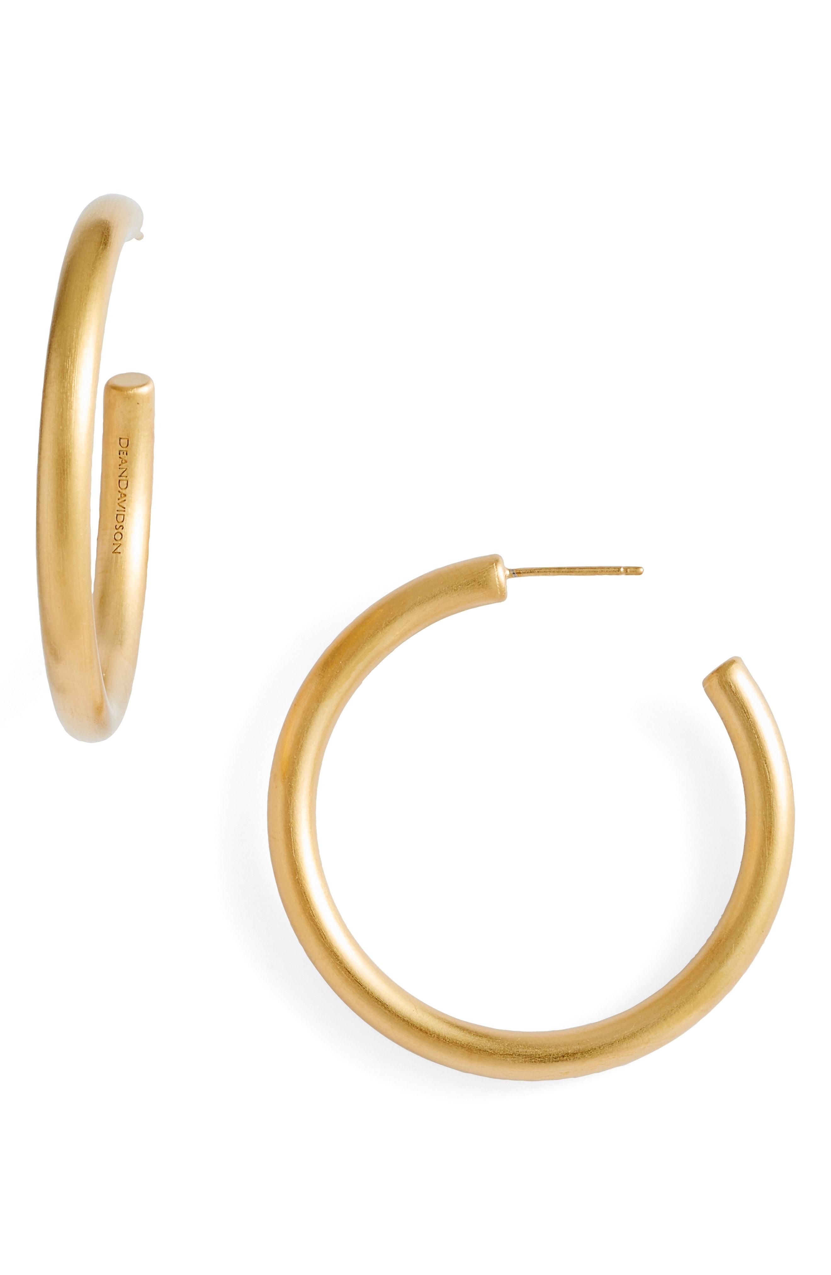 Dean Davidson Small Dune Hoop Earrings