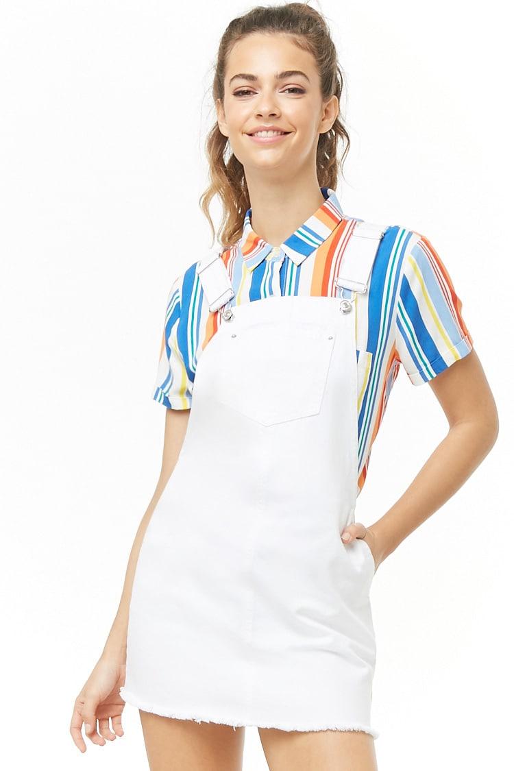 F21 Denim Overall Dress