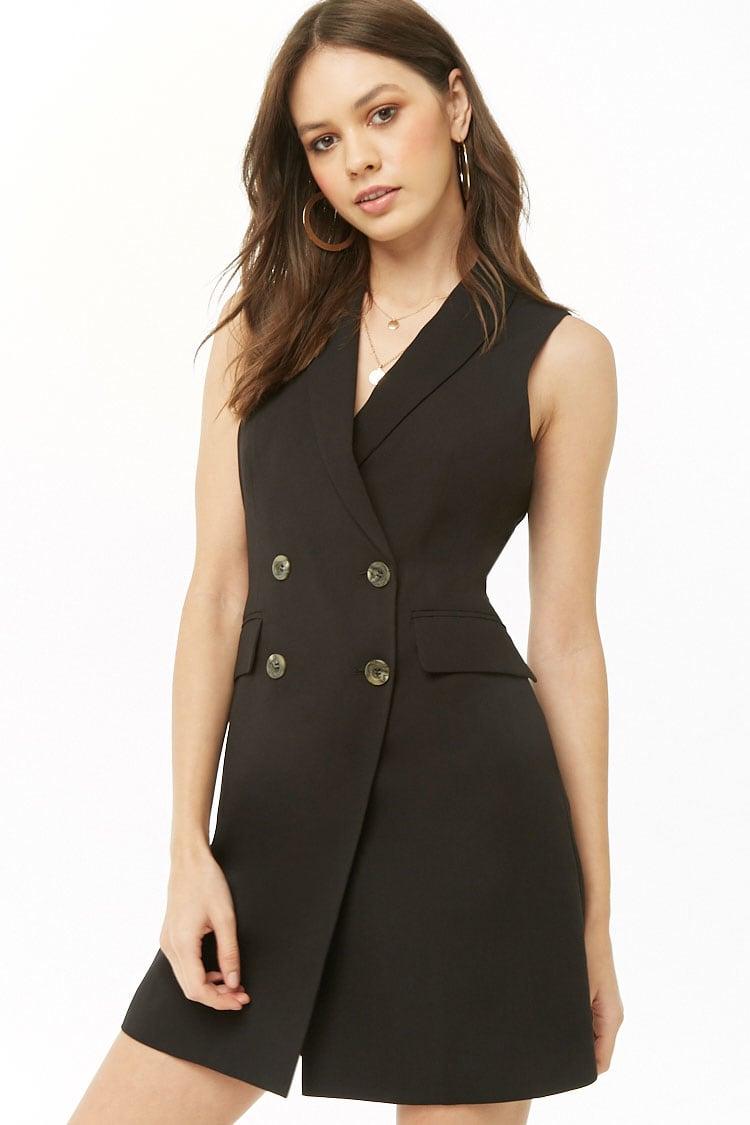 F21 Double-Breasted Blazer Dress