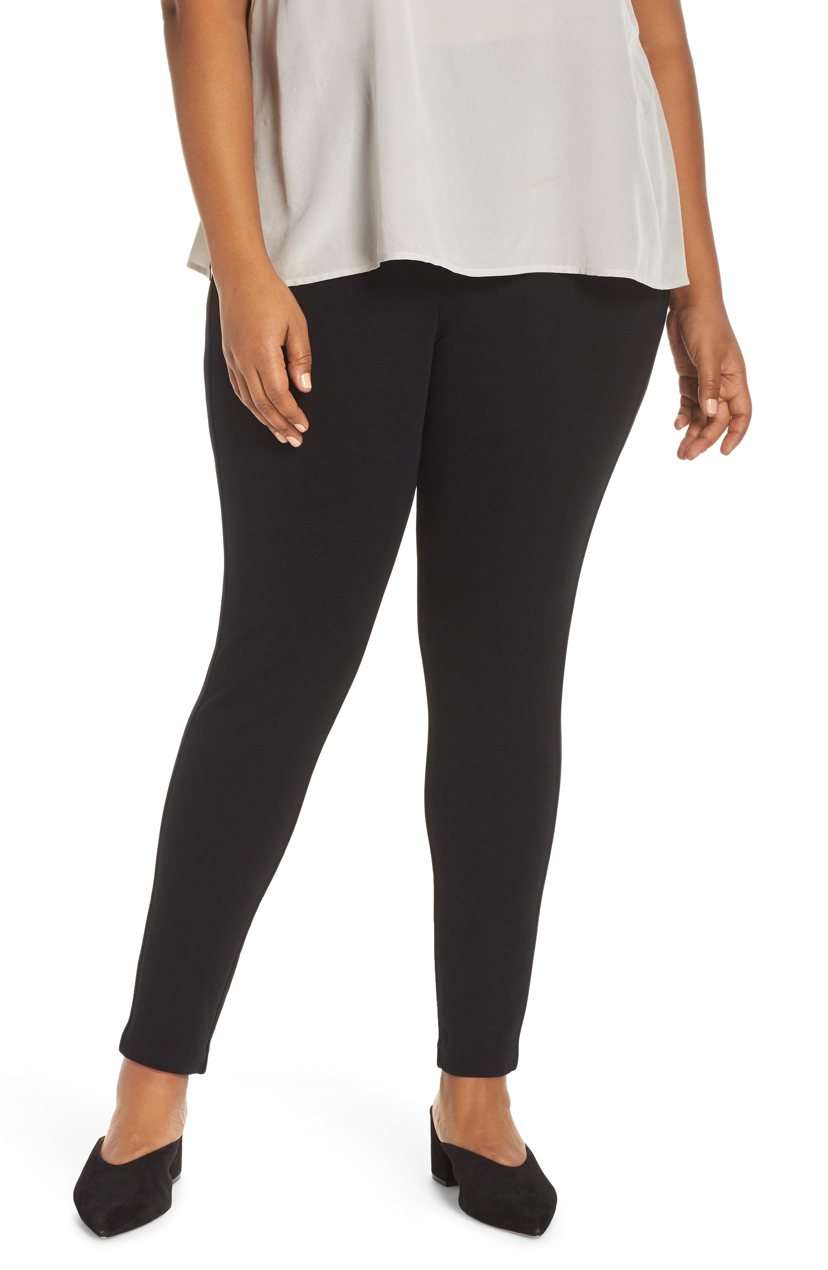 Eileen Fisher Tencel Lyocell Blend Leggings (Plus Size)