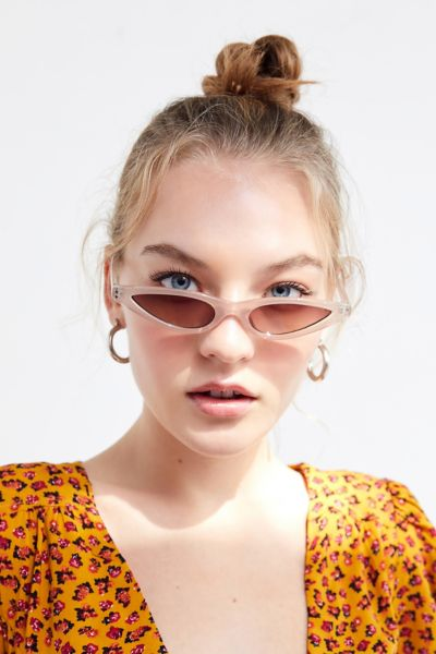 Essential Slim Cat Eye Sunglasses