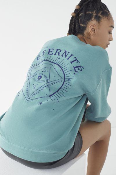 Eternite Crew-Neck Pullover Sweatshirt