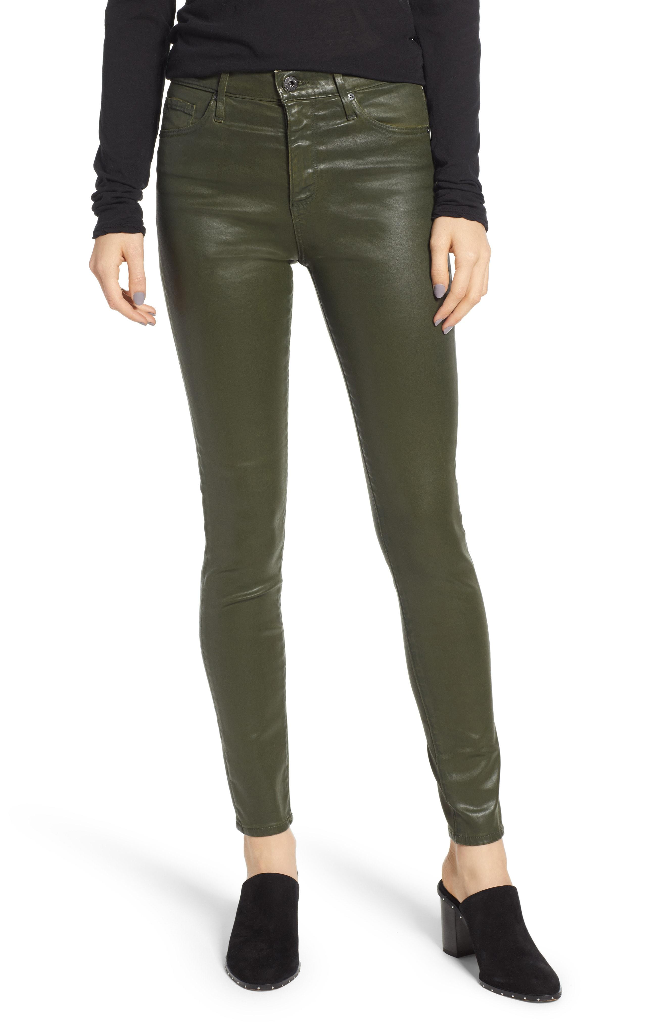 AG Farrah High Waist Ankle Skinny Jeans