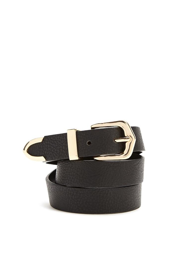 F21 Faux Leather Belt