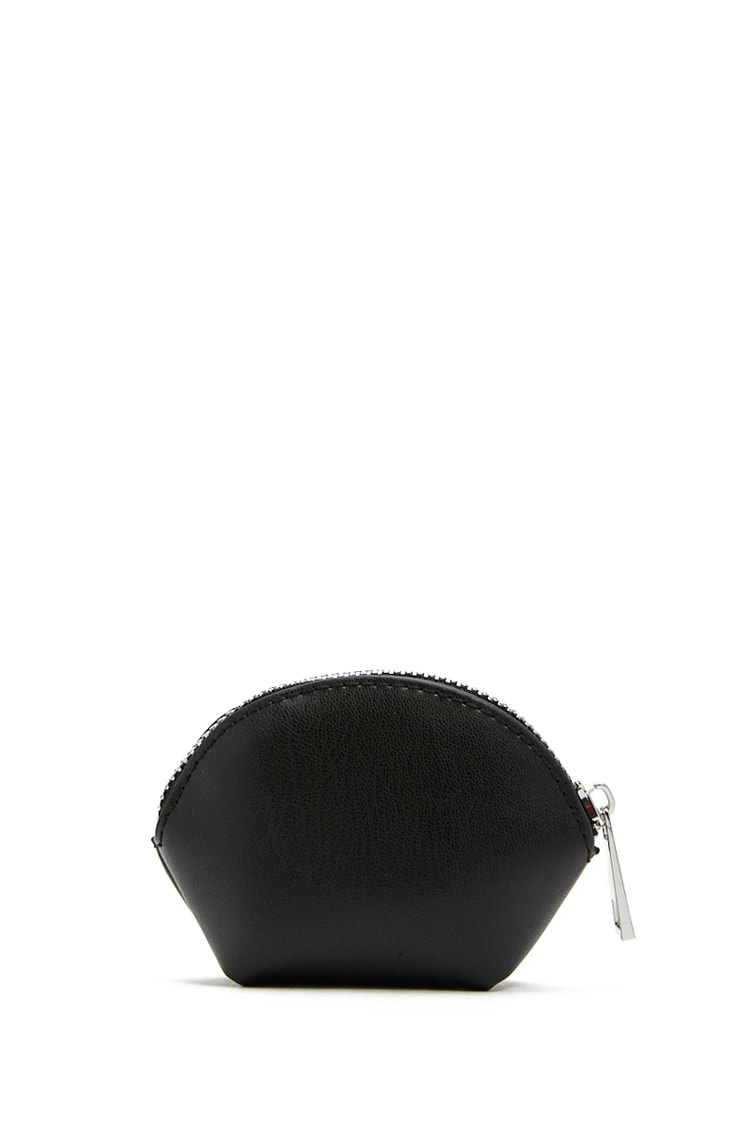 F21 Faux Leather Coin Purse