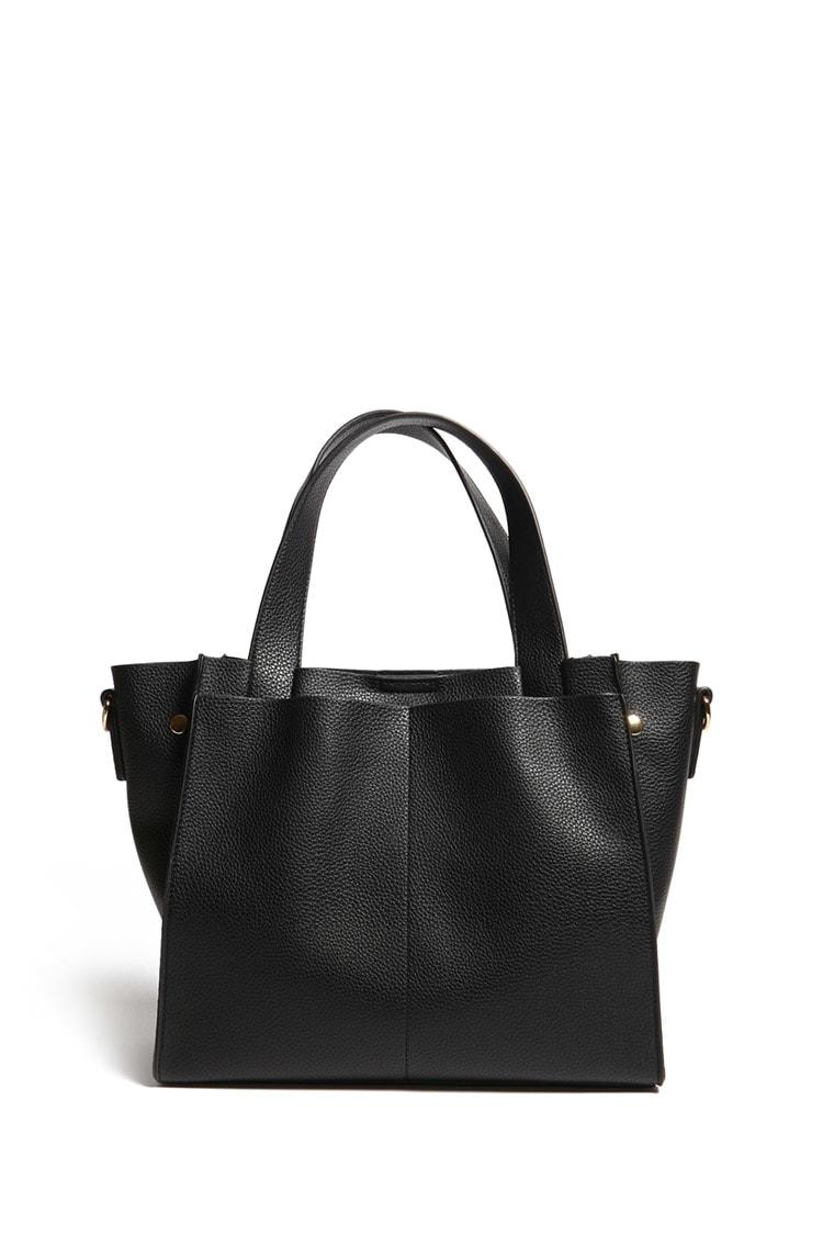F21 Faux Leather Satchel