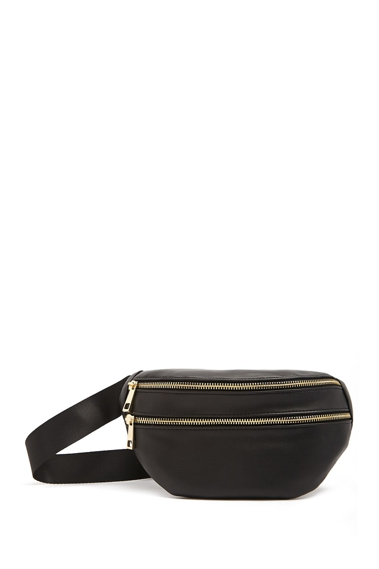 F21 Faux Leather Sling Bag