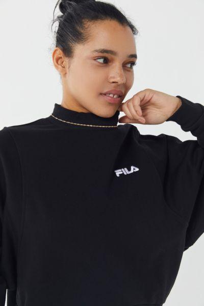 FILA Mock-Neck Pullover Sweatshirt
