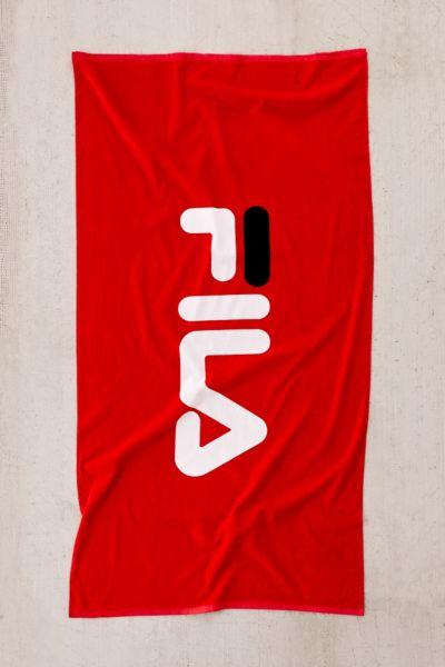 FILA UO Exclusive Logo Beach Towel