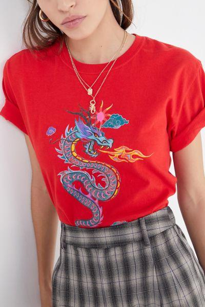 Fire-Breathing Dragon Tee