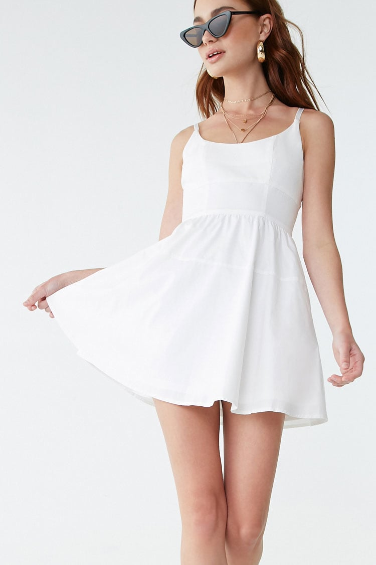 F21 Fit & Flare Cami Dress