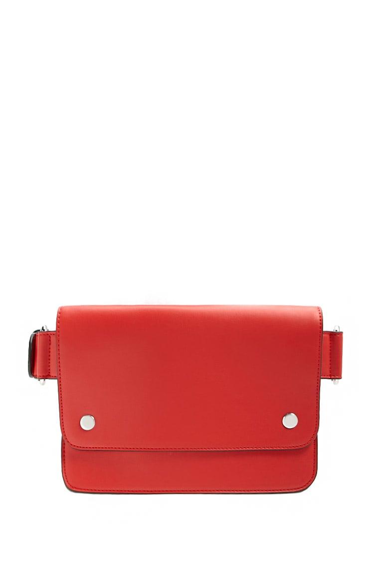 F21 Flap Top Belt Bag