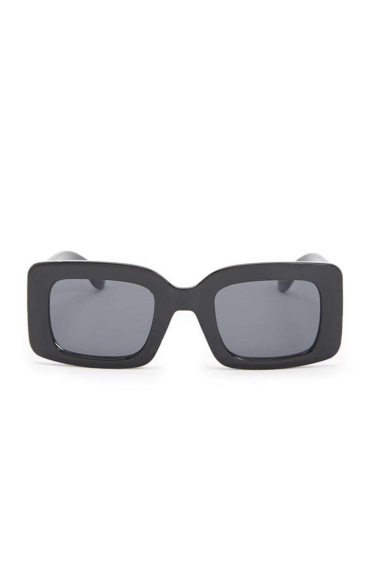 F21 Flat Lens Square Sunglasses