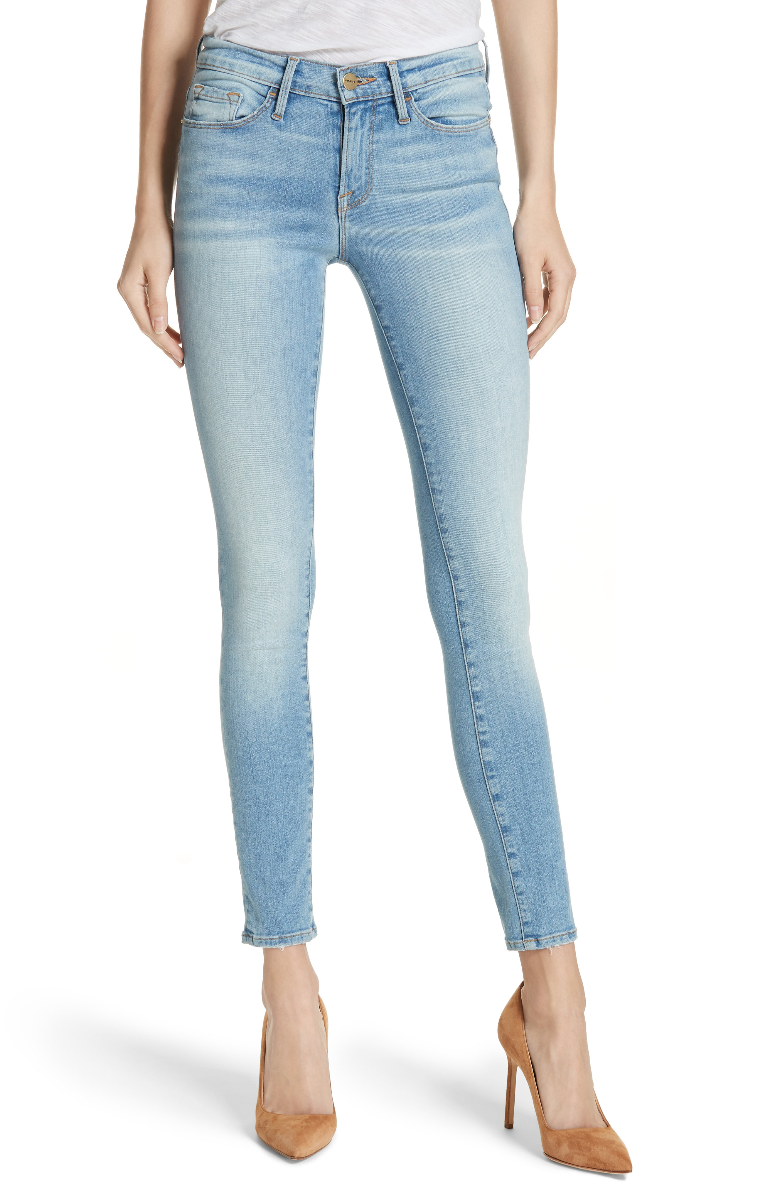 FRAME Le Skinny de Jeanne Jeans (Mills)