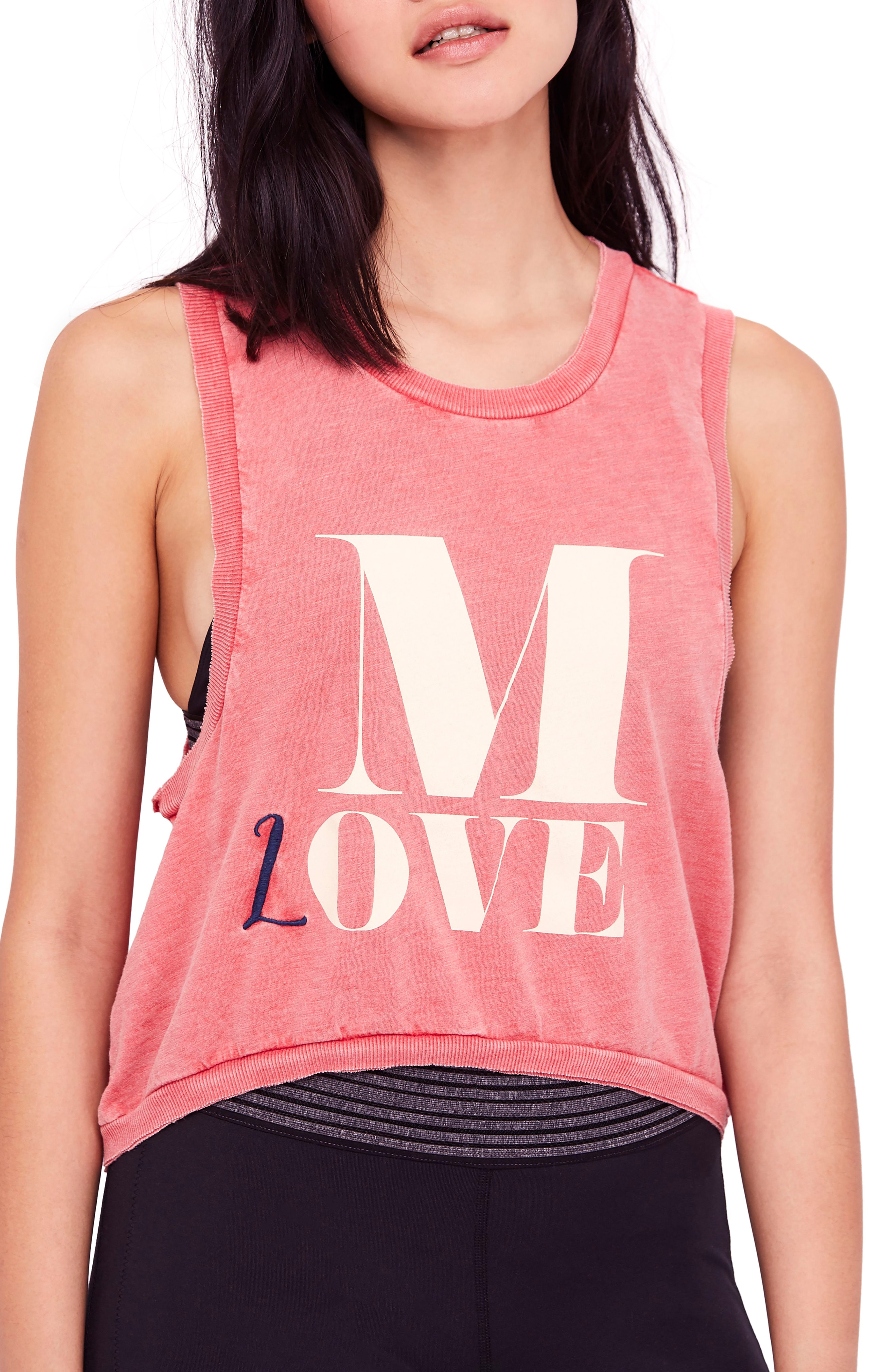 free people Move Graphic Tank