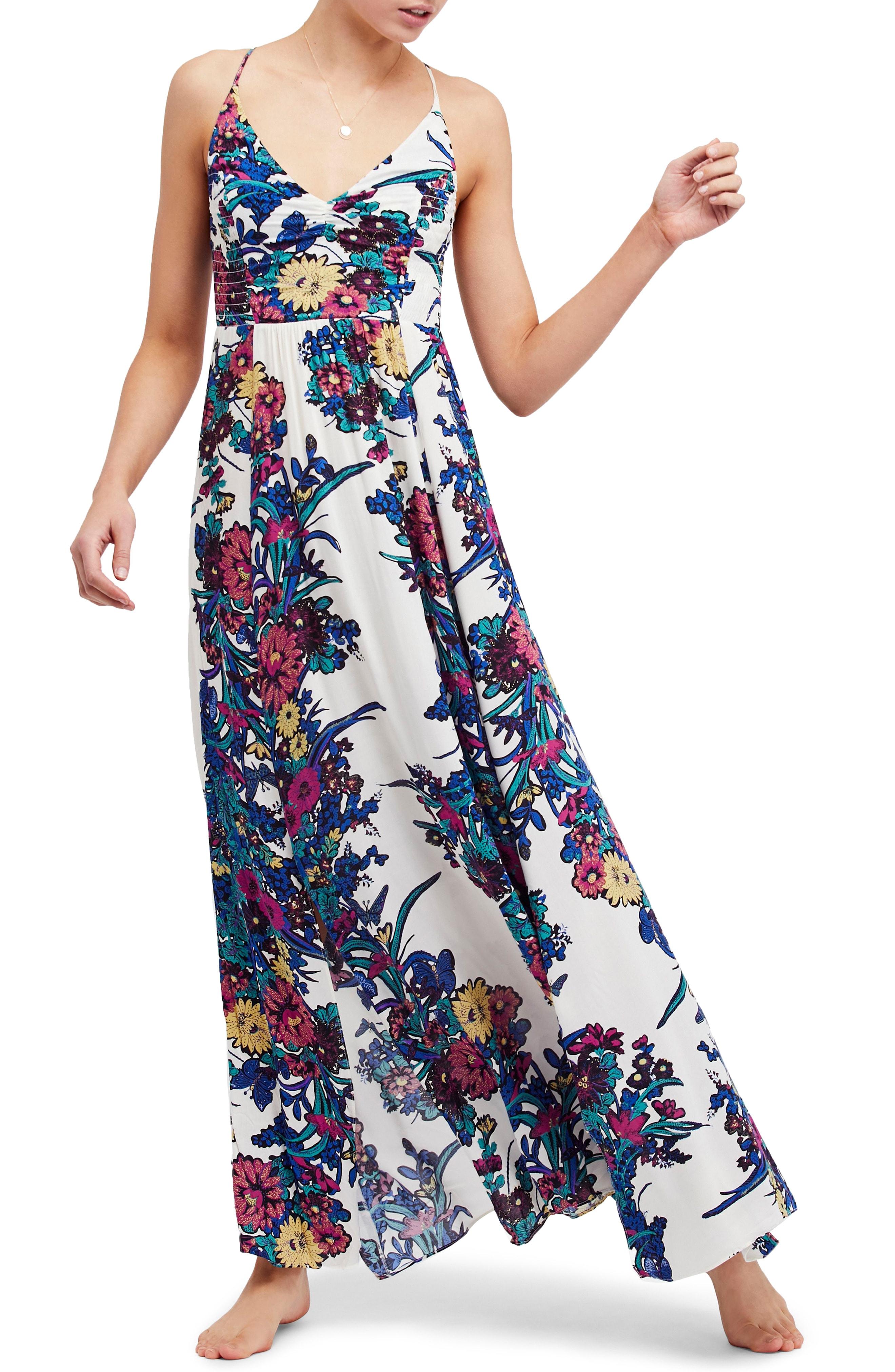 Free People Through the Vine Maxi Dress