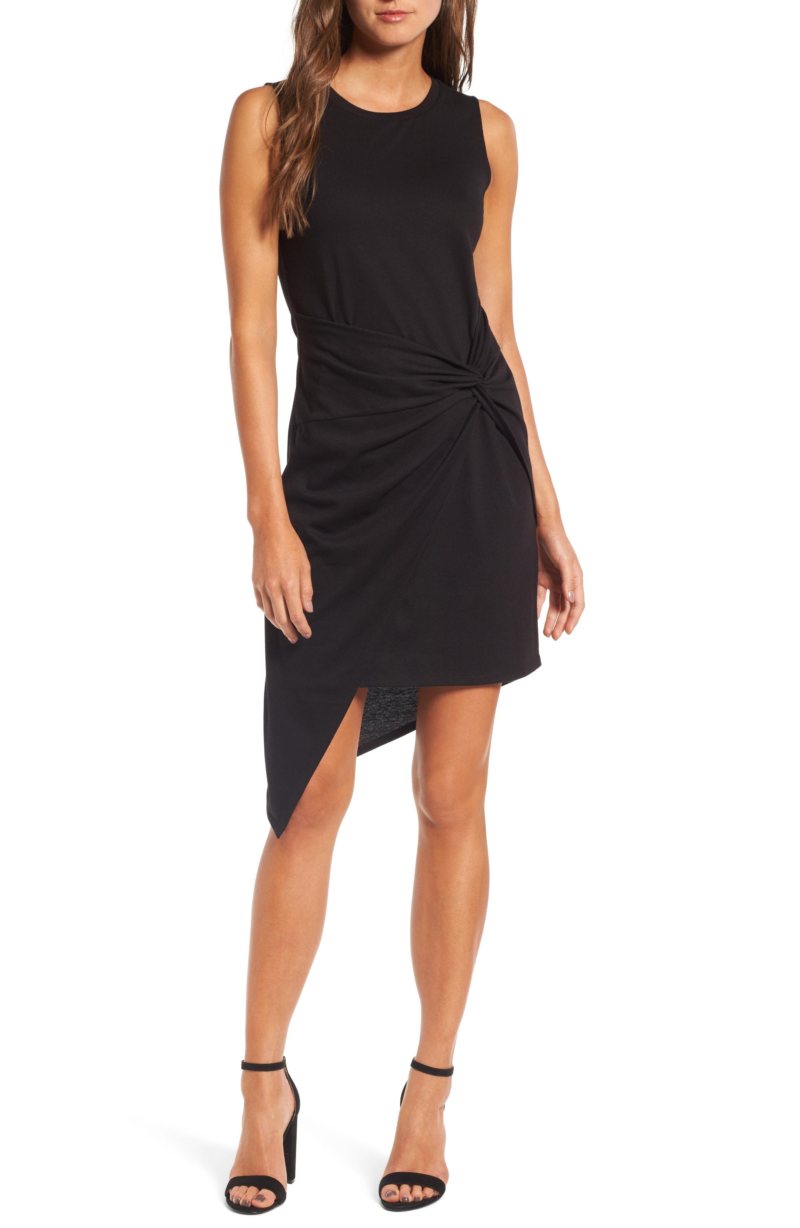 Trouv Twist Front Dress