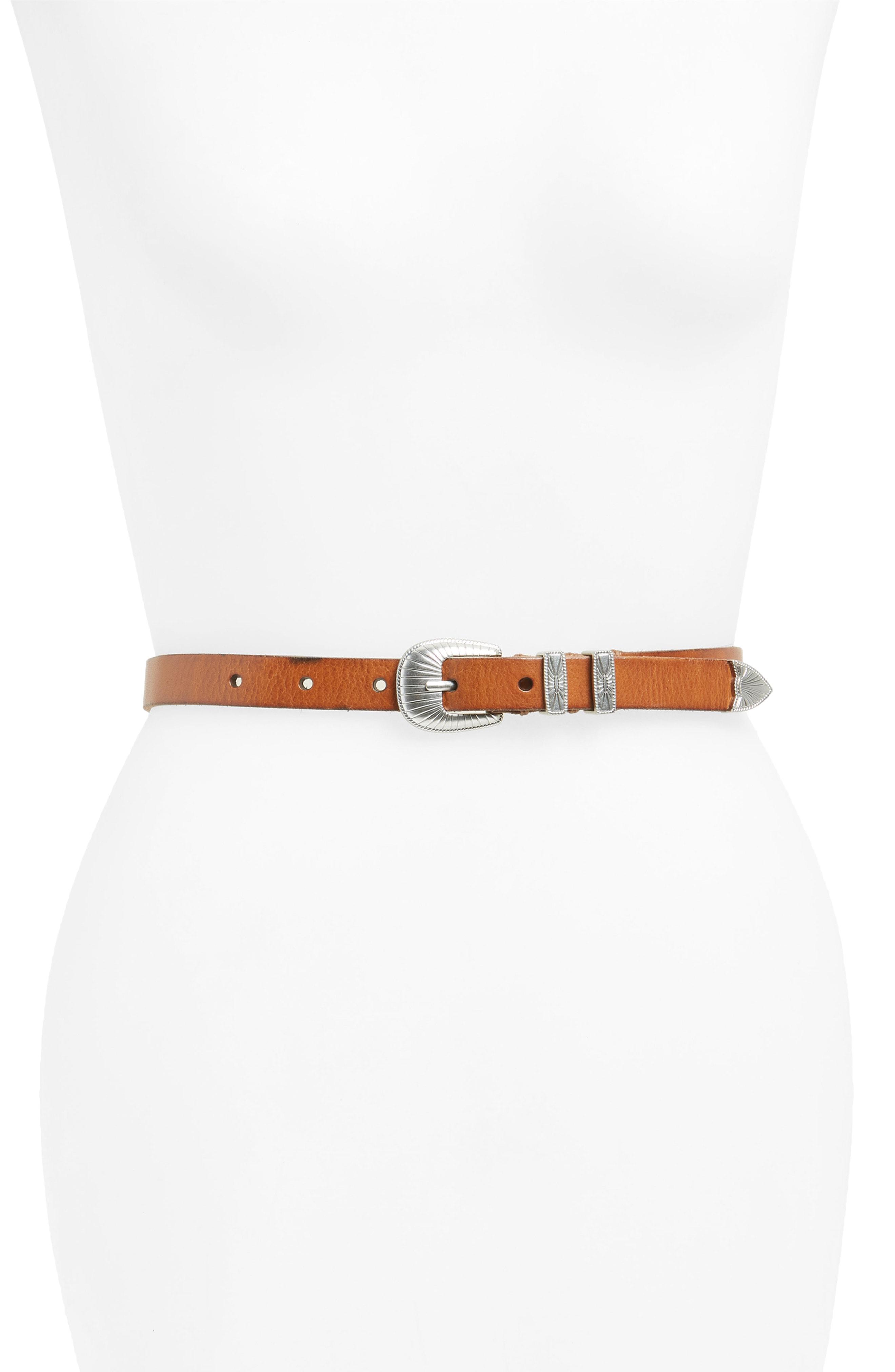 Frye Ellen Leather Belt