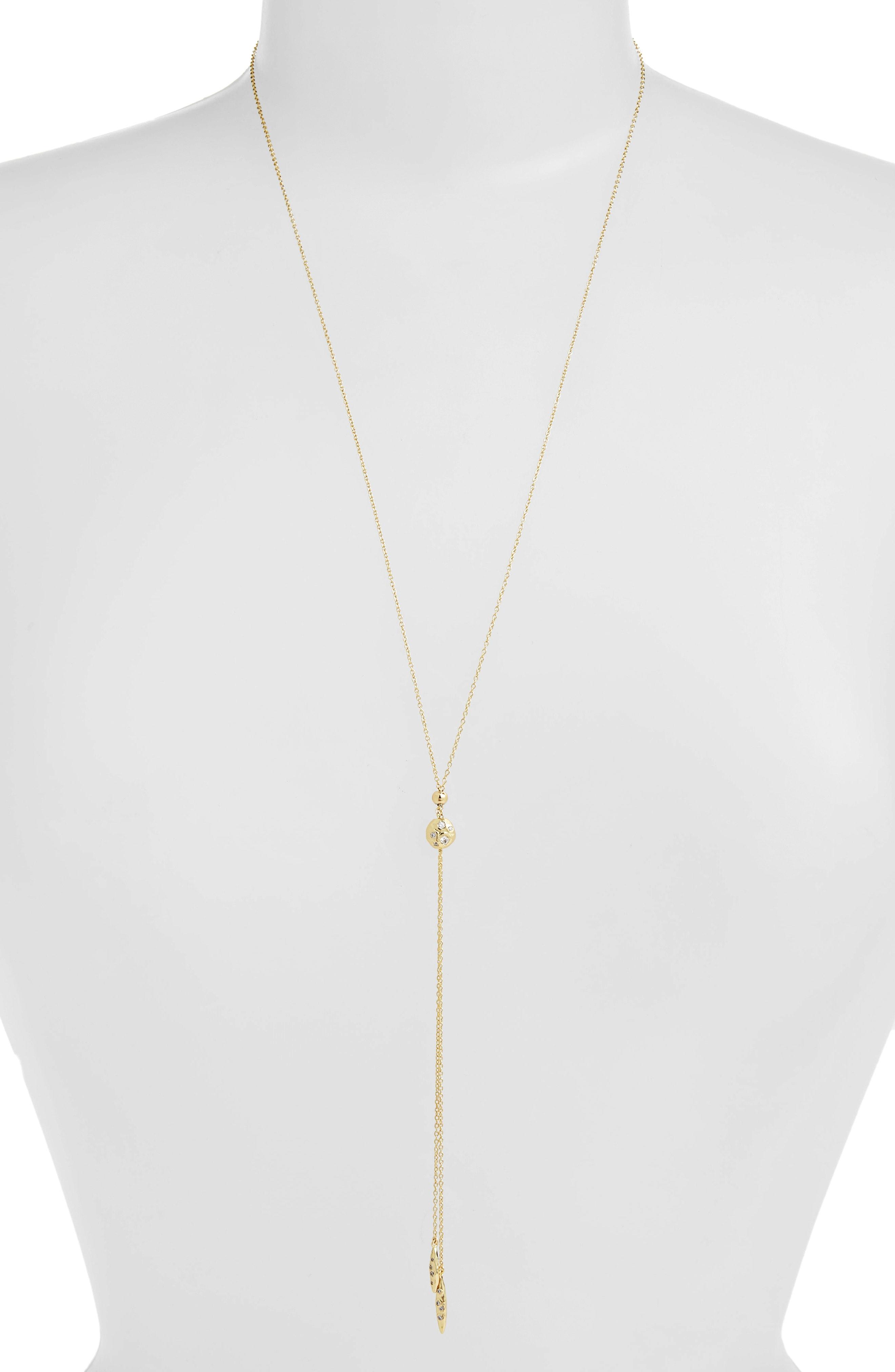 gorjana Collette Adjustable Y-Necklace