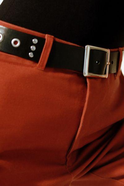 Grommet + Stud Leather Belt