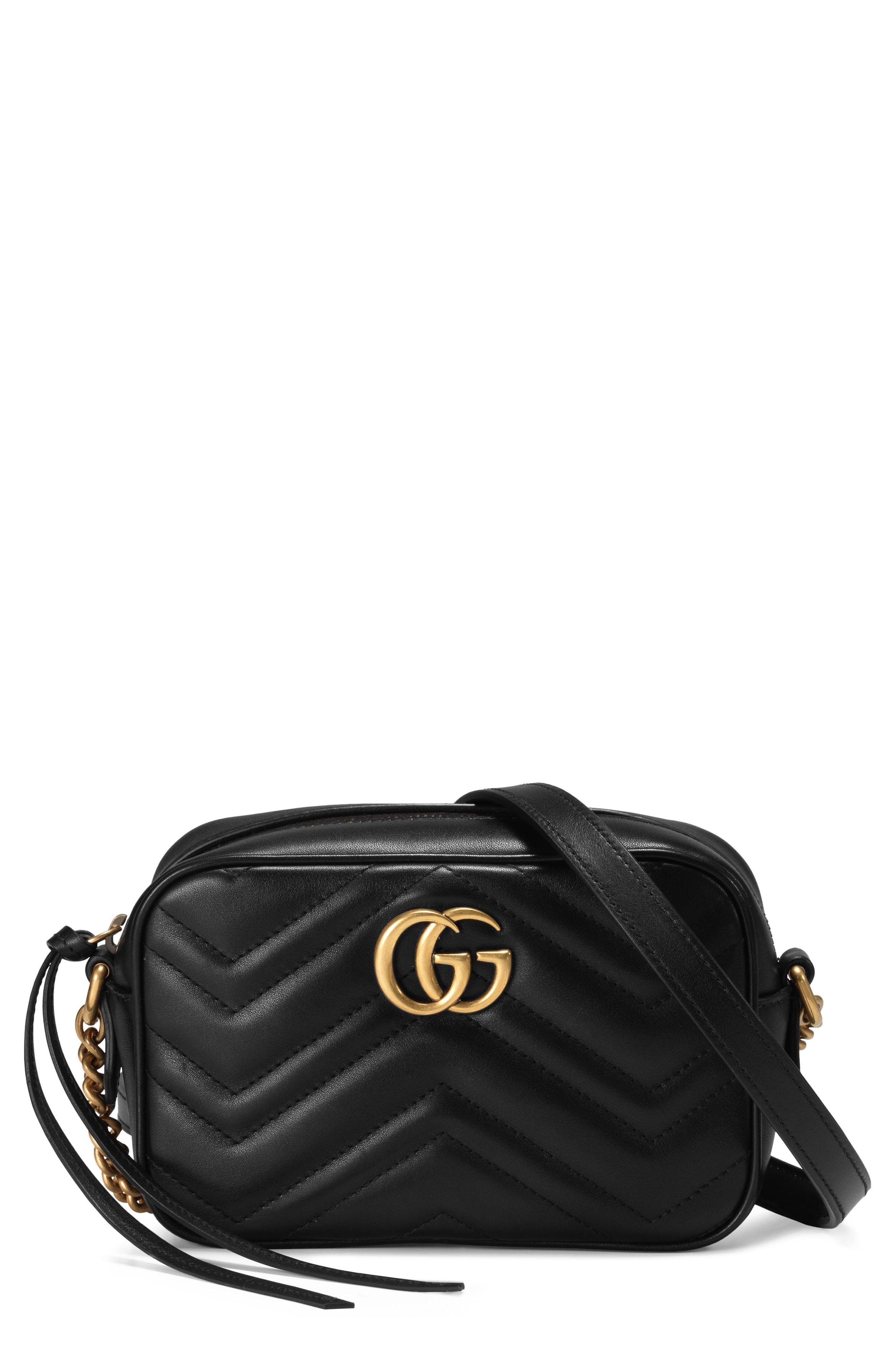Gucci GG Marmont 2.0 Matelass Leather Shoulder Bag