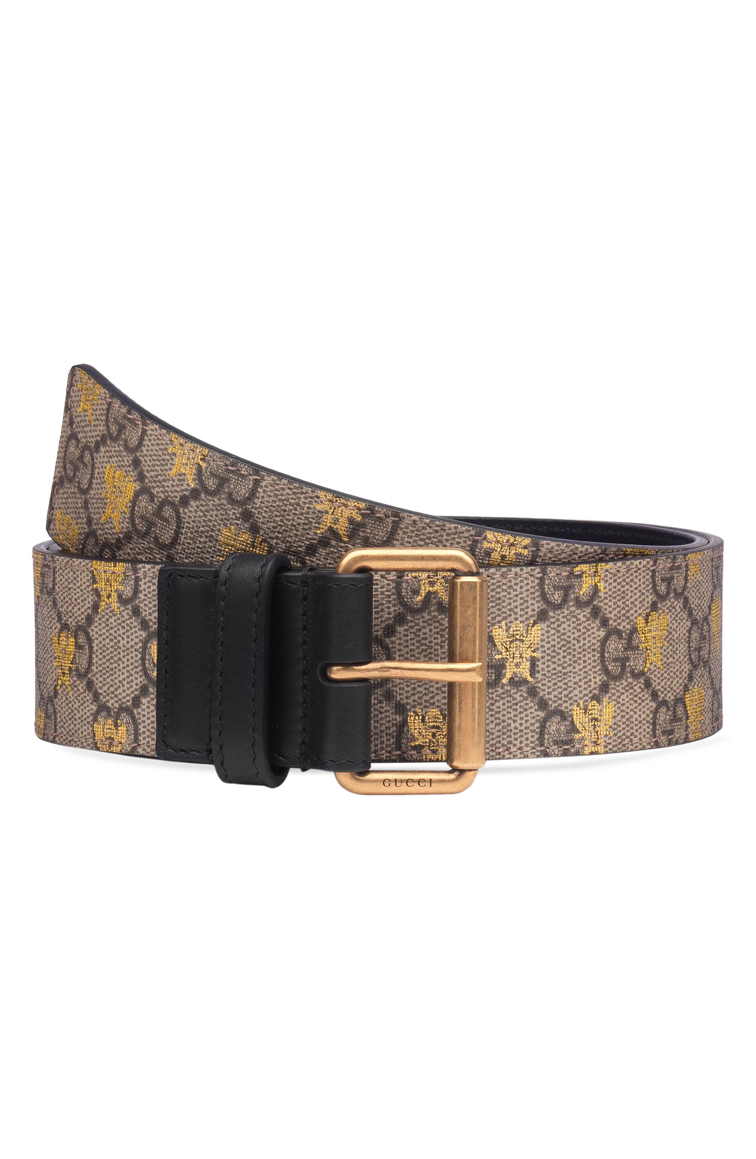 Gucci GG Supreme Canvas Belt