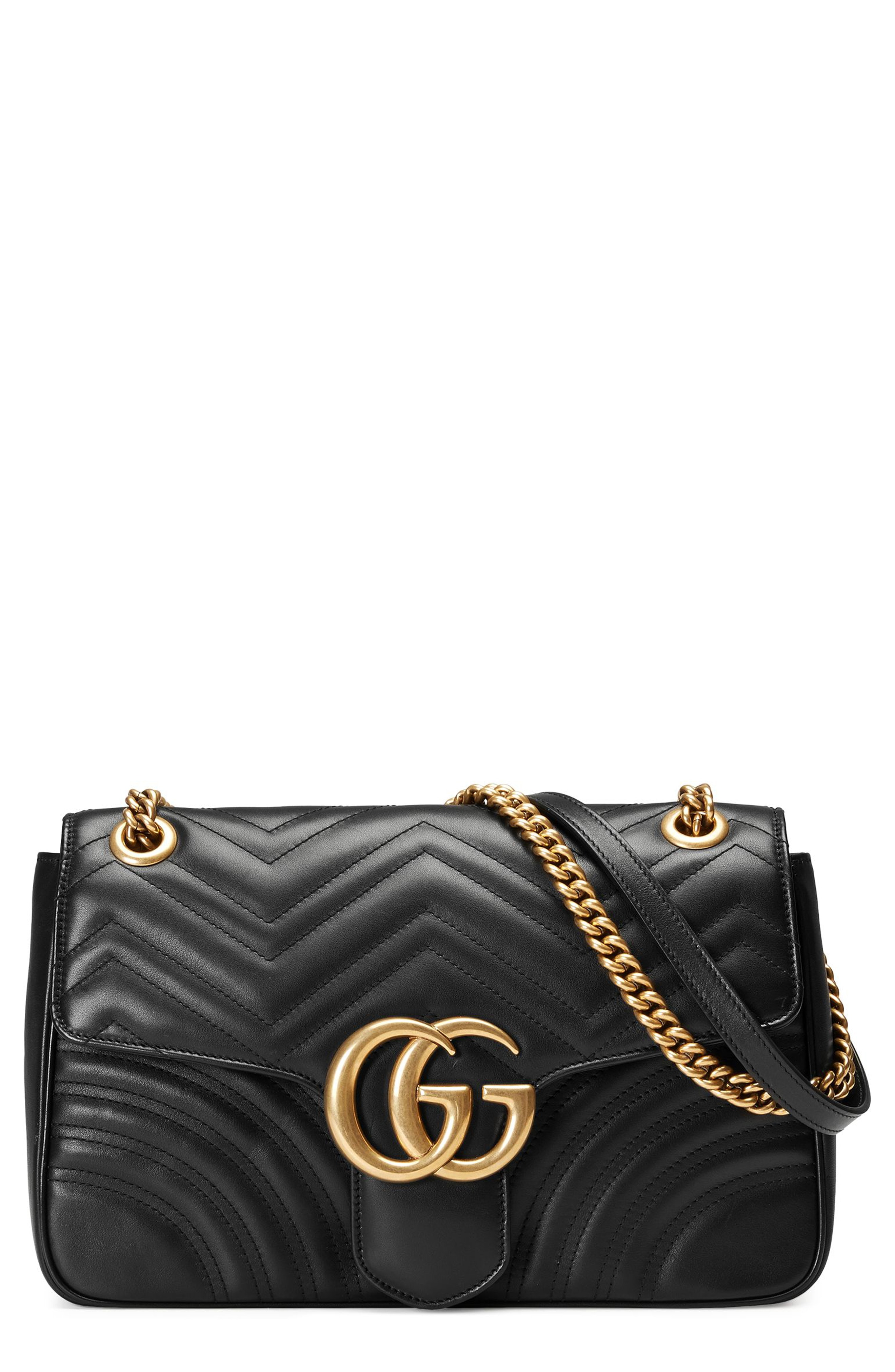 Gucci Medium GG Marmont 2.0 Matelass Leather Shoulder Bag
