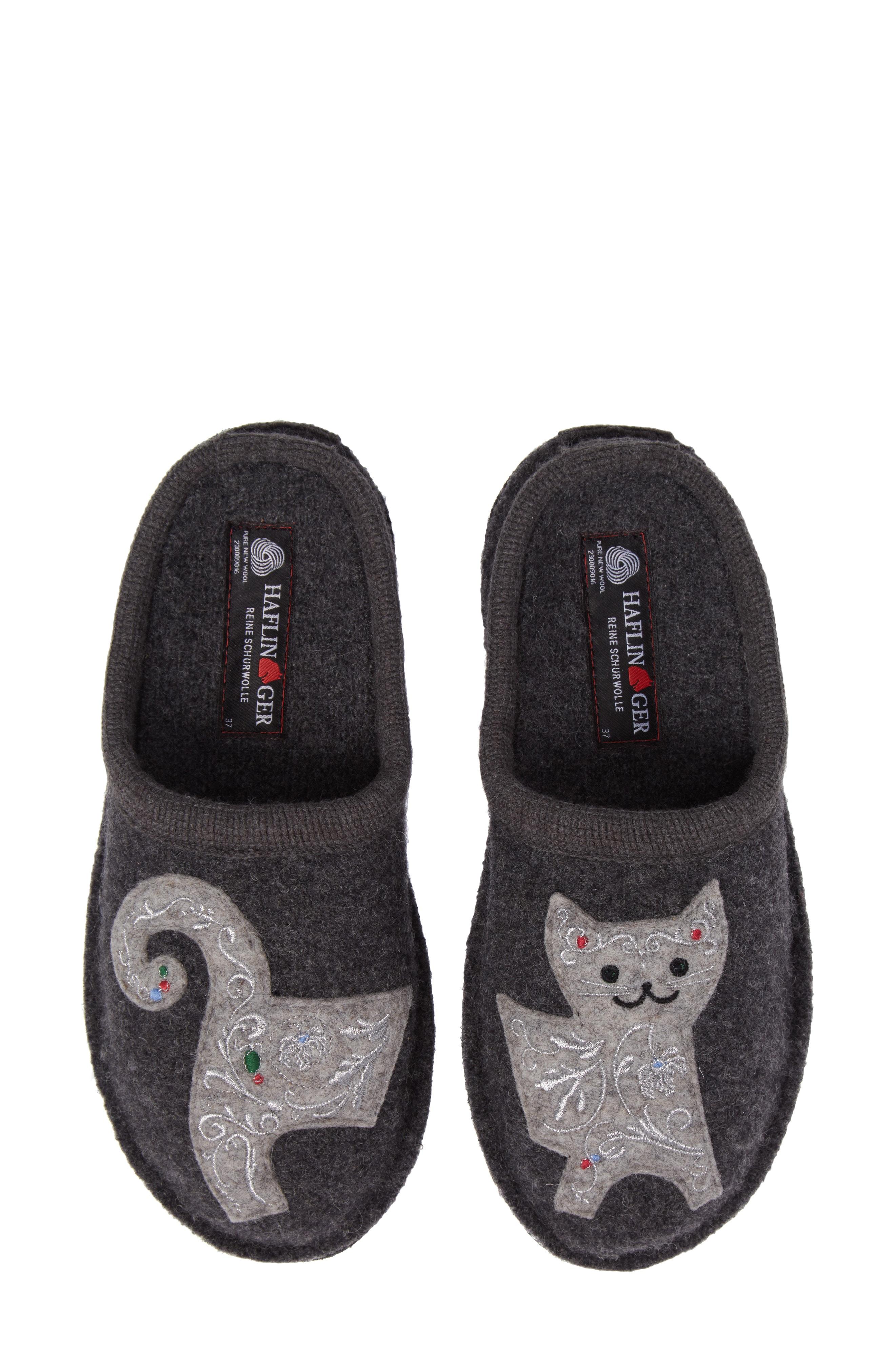 Haflinger 'Cat' Slipper