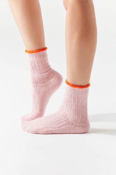 Hansel From Basel Pointelle Crew Sock