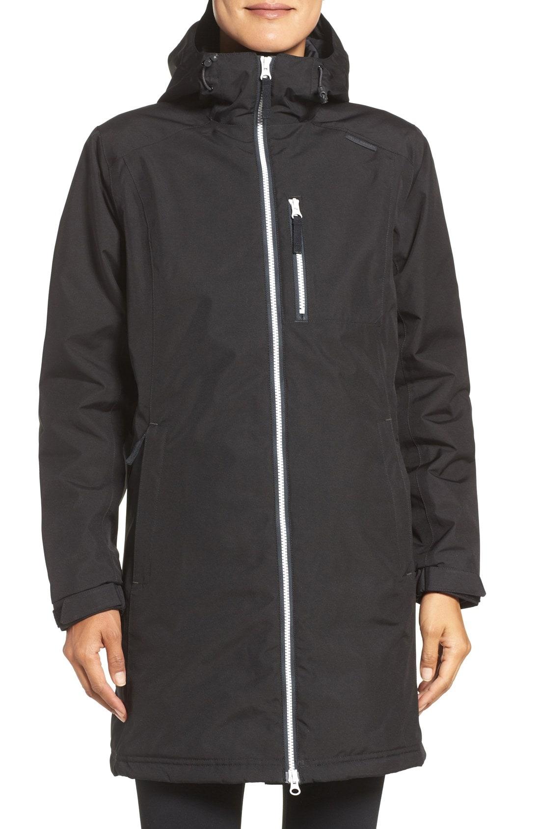 Helly Hansen 'Belfast' Long Waterproof Winter Rain Jacket