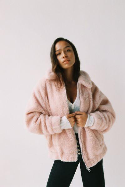 I.AM.GIA + UO Pixie Teddy Coat