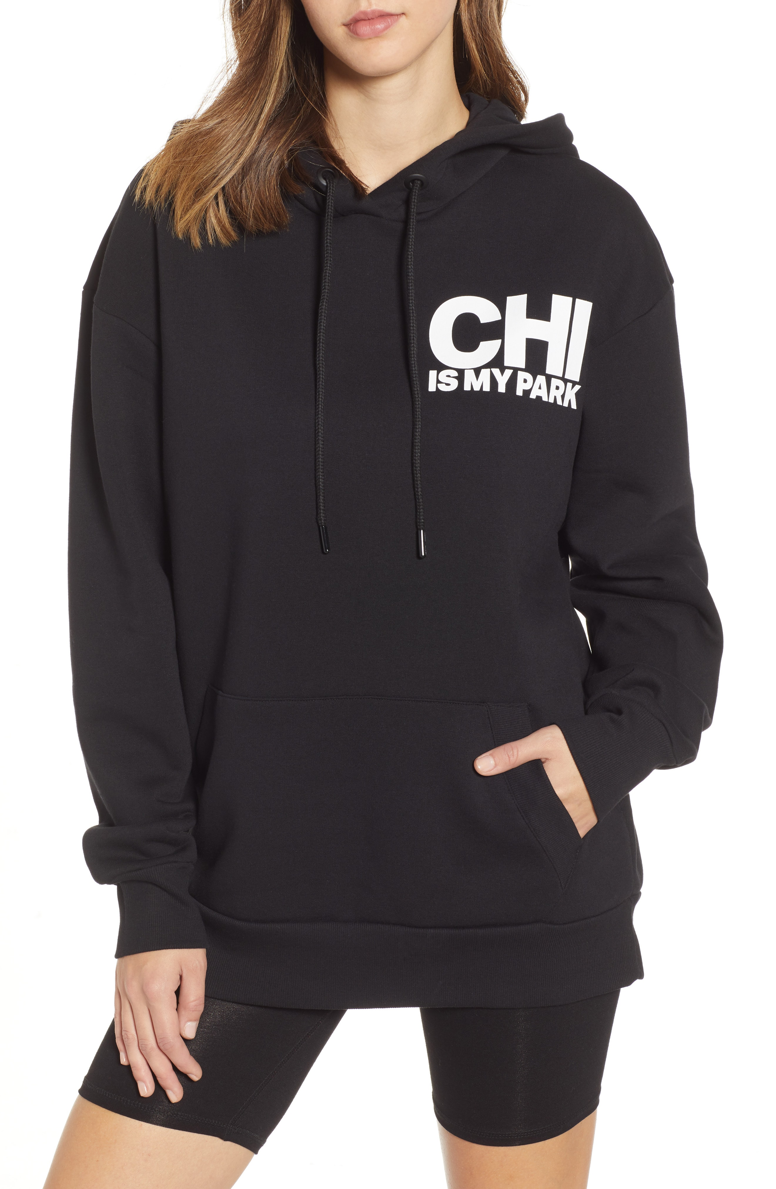 IVY PARK On The Run Chicago Graphic Hoodie
