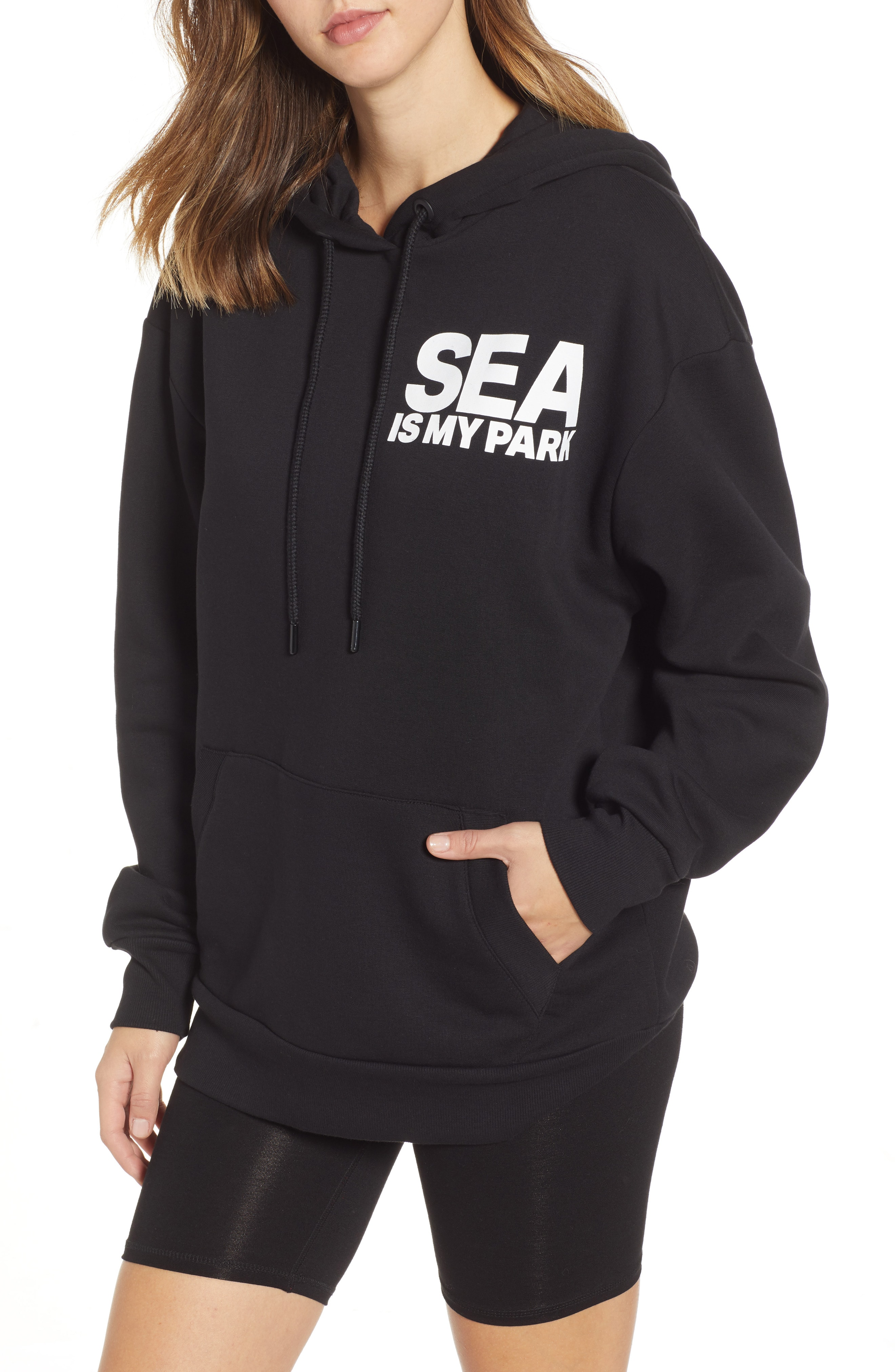 IVY PARK On The Run Seattle Graphic Hoodie