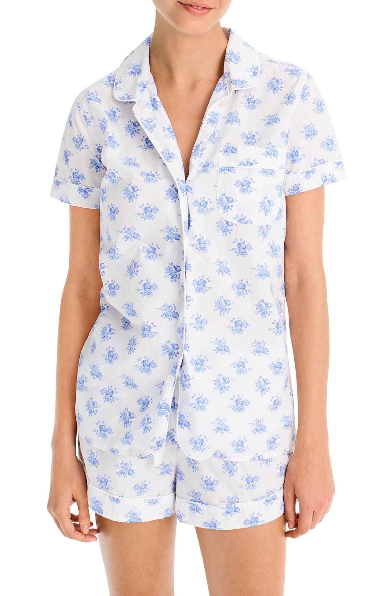 J.Crew Sweet Pea Pajamas (Plus Size)