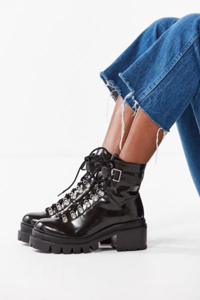 Jeffrey Campbell Czech Lace-Up Boot