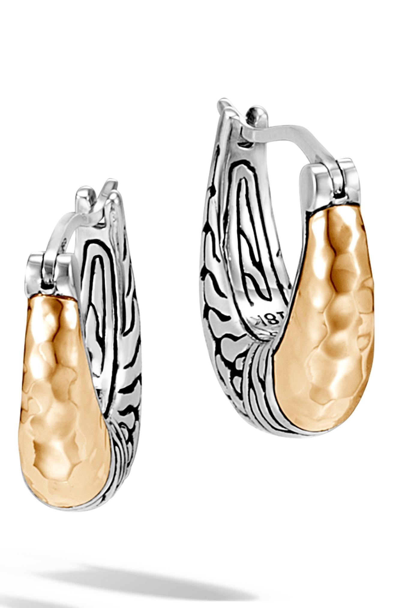 John Hardy Classic Chain Small Hoop Earrings