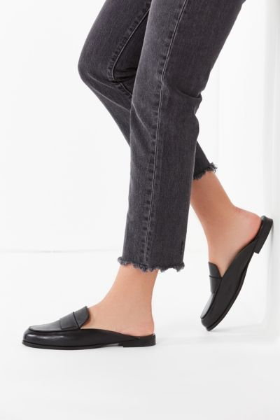 Jules Leather Loafer Mule
