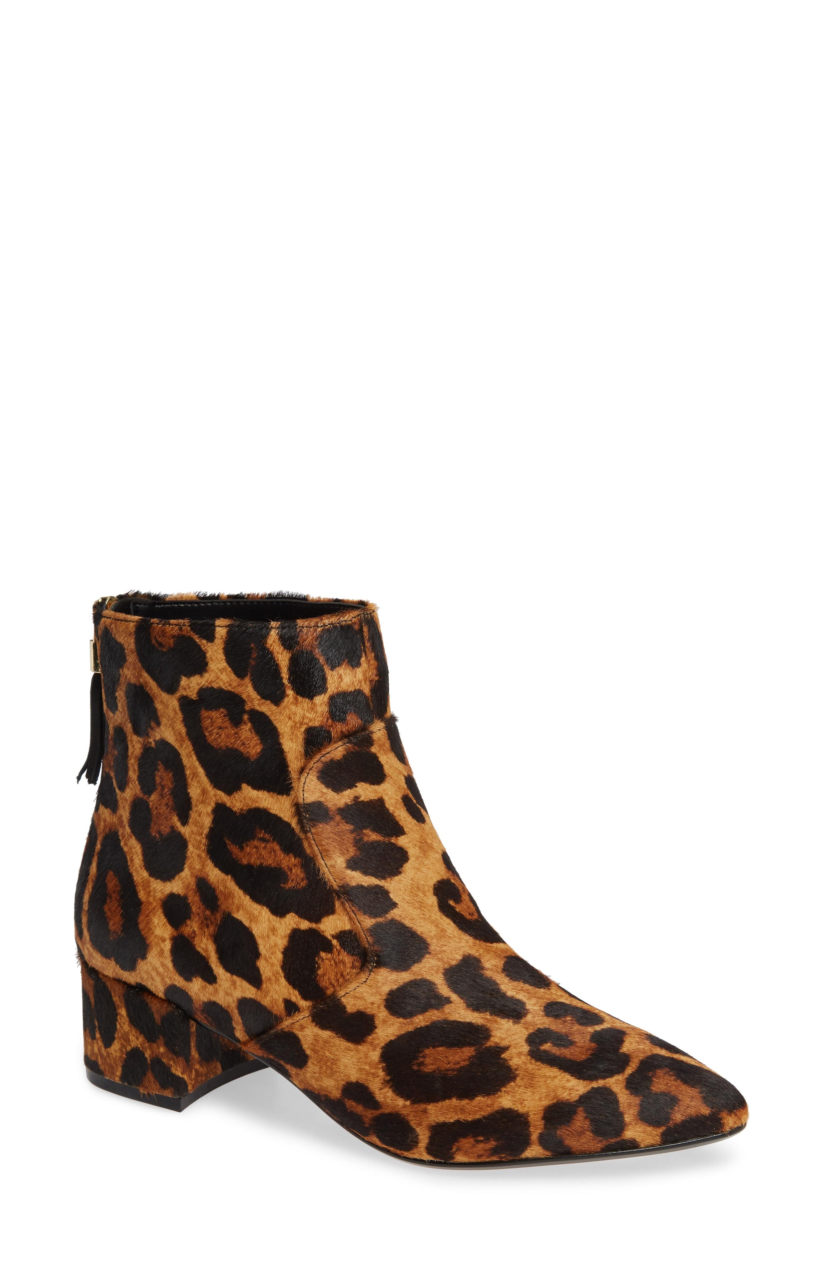 KARL LAGERFELD PARIS Maude Genuine Calf Hair Boot (Women)