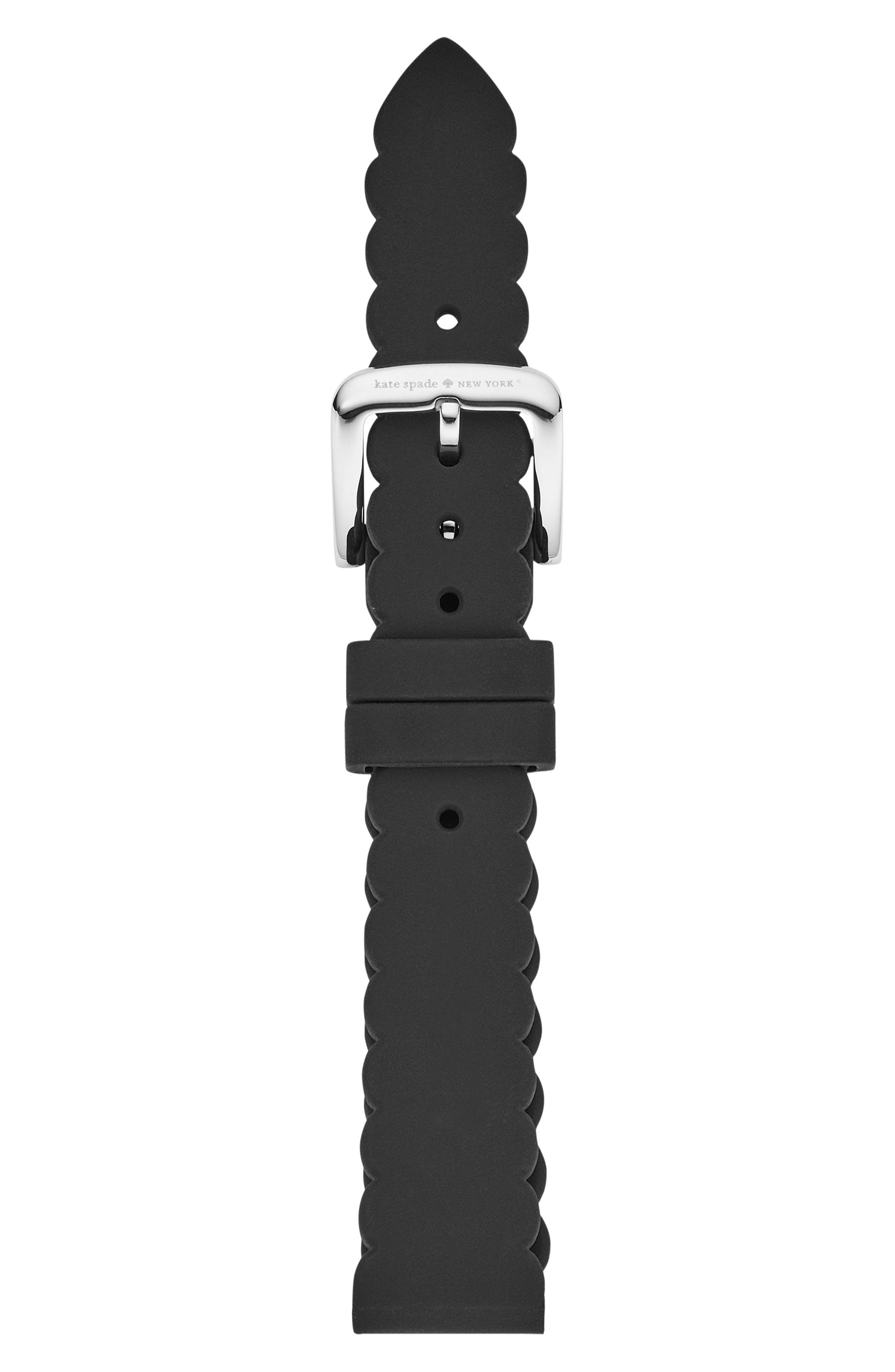 kate spade new york 16mm scallop smartwatch strap