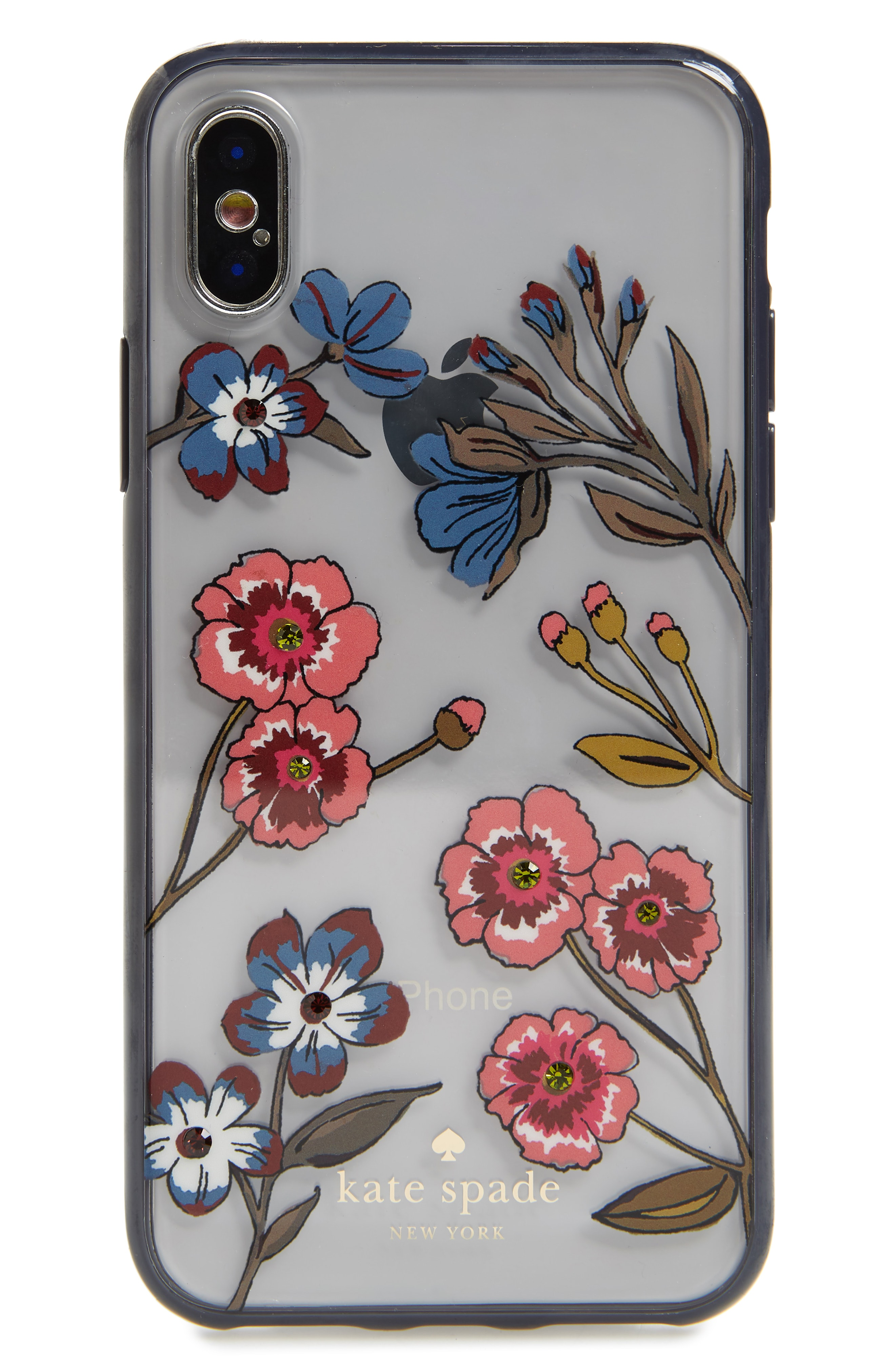kate spade new york jeweled meadow iPhone X/Xs case