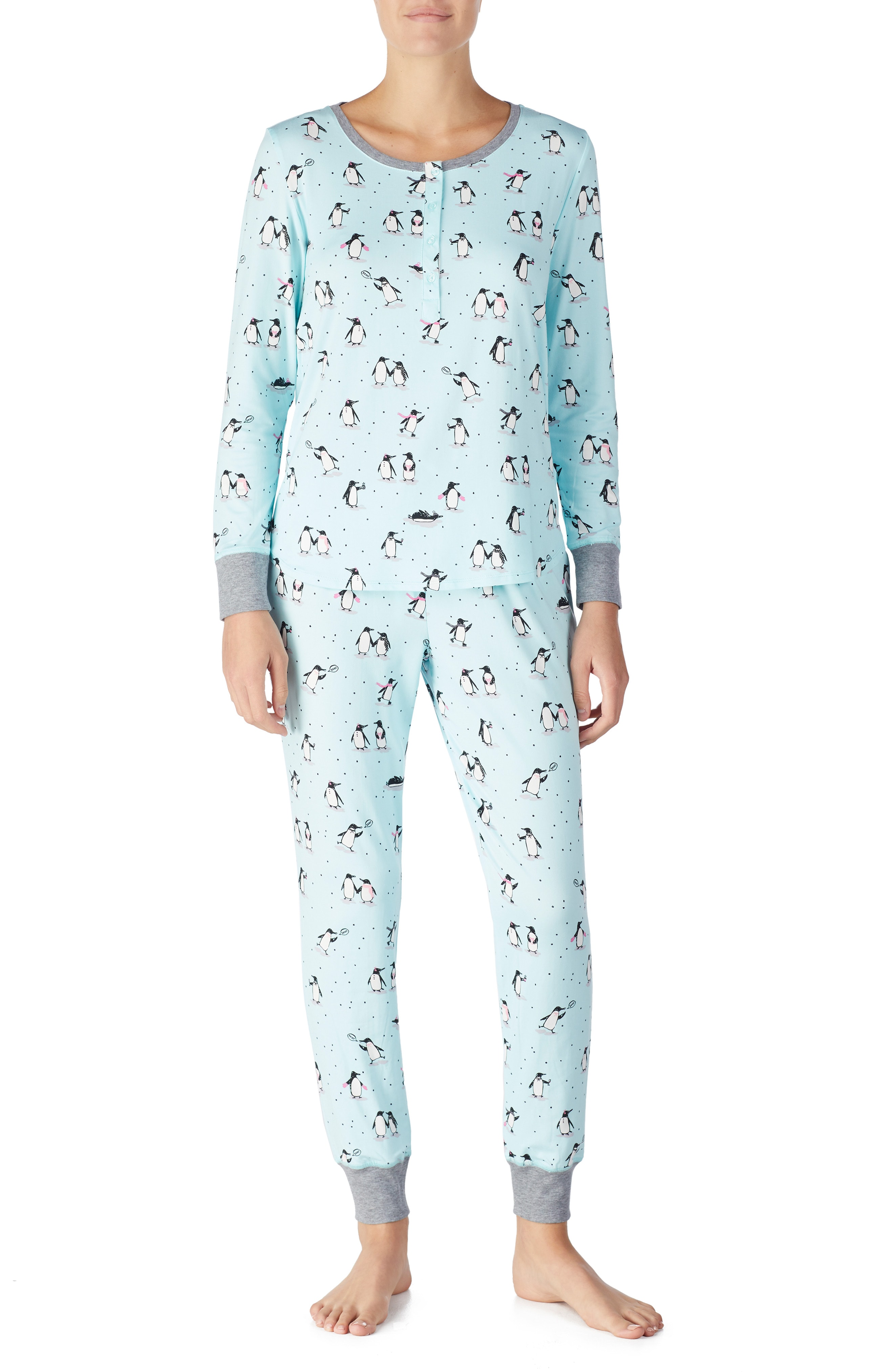 kate spade new york jogger long pajamas