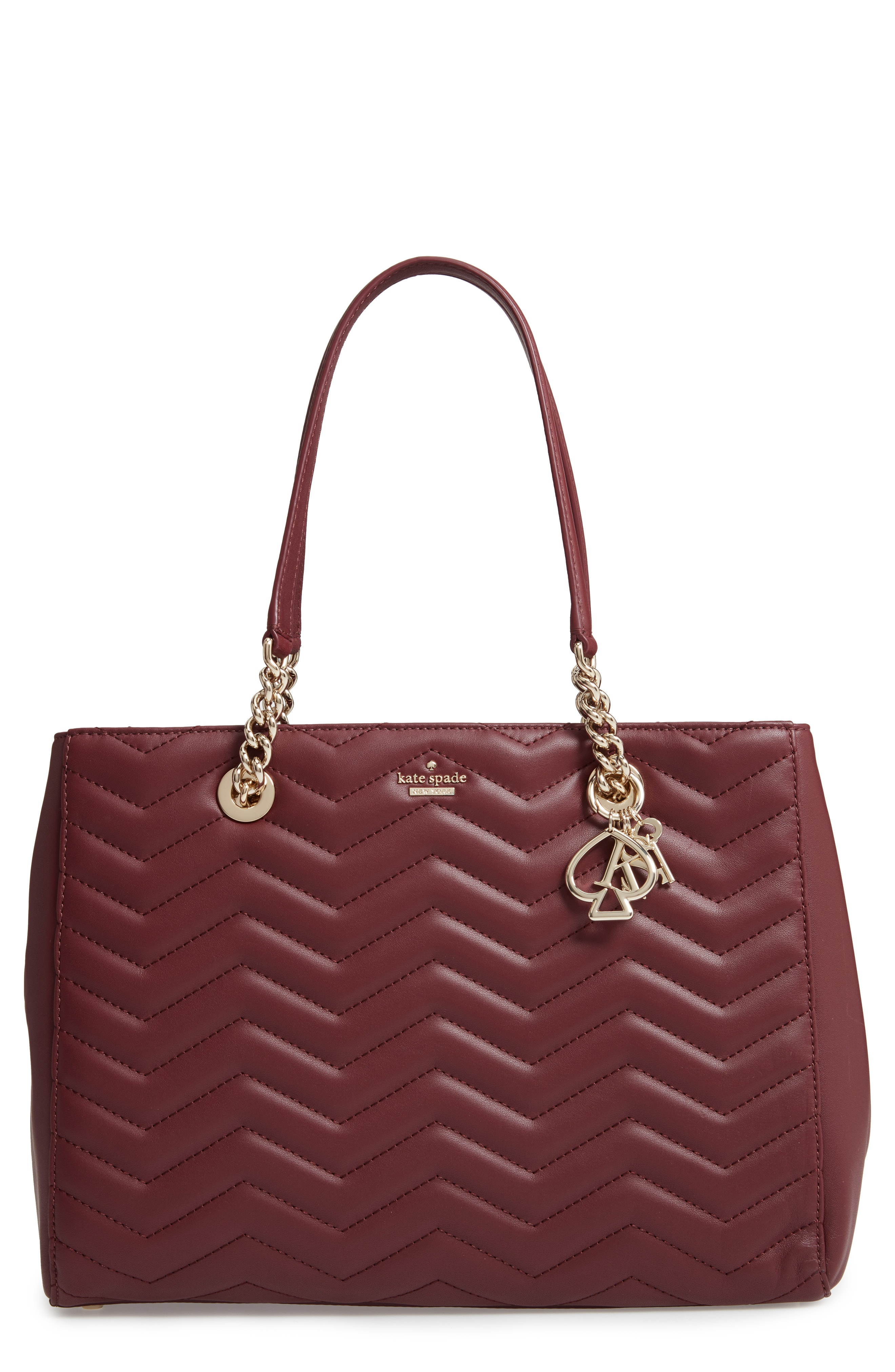 kate spade new york reese park courtnee leather tote