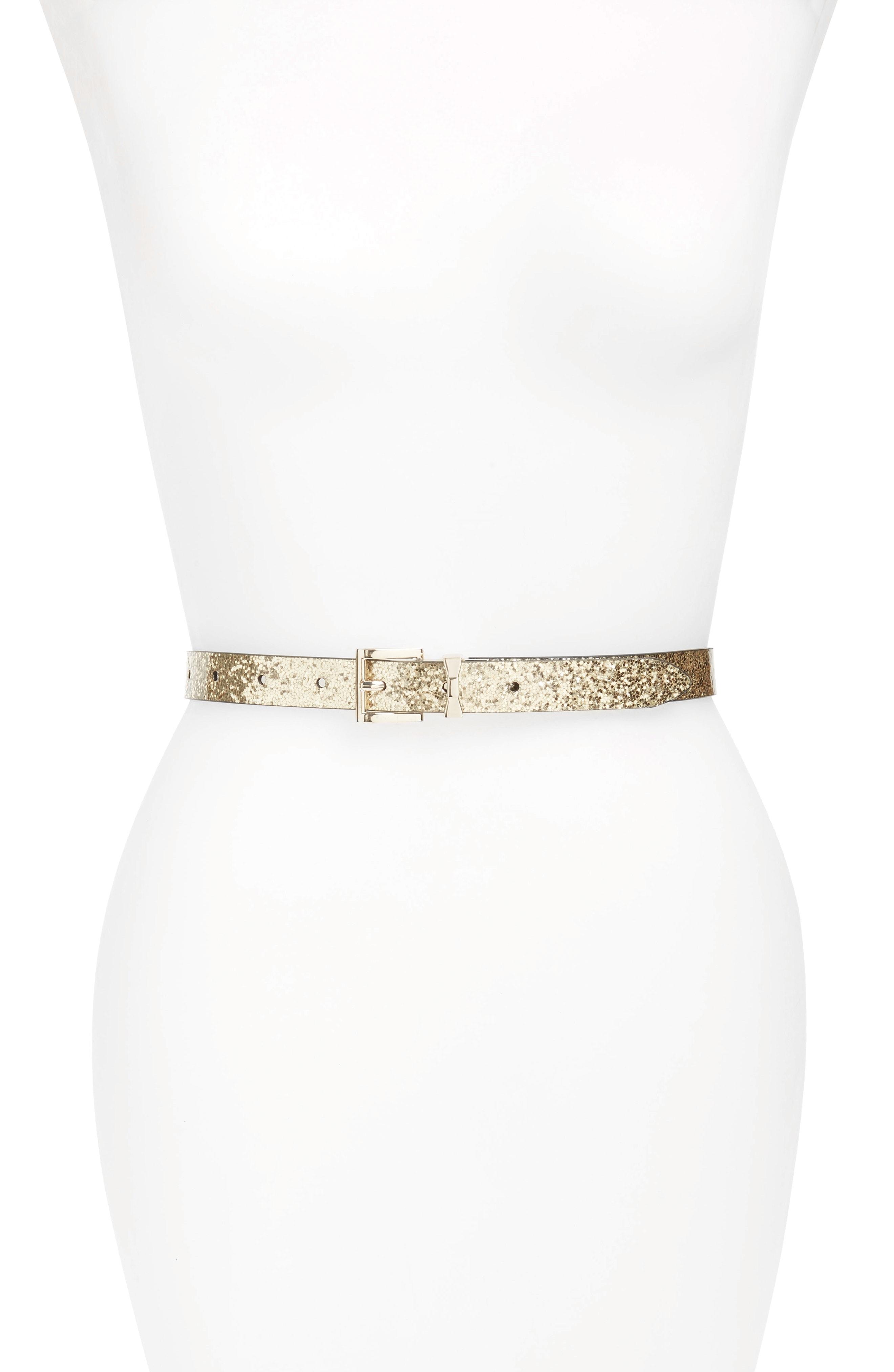 kate spade new york reversible skinny belt