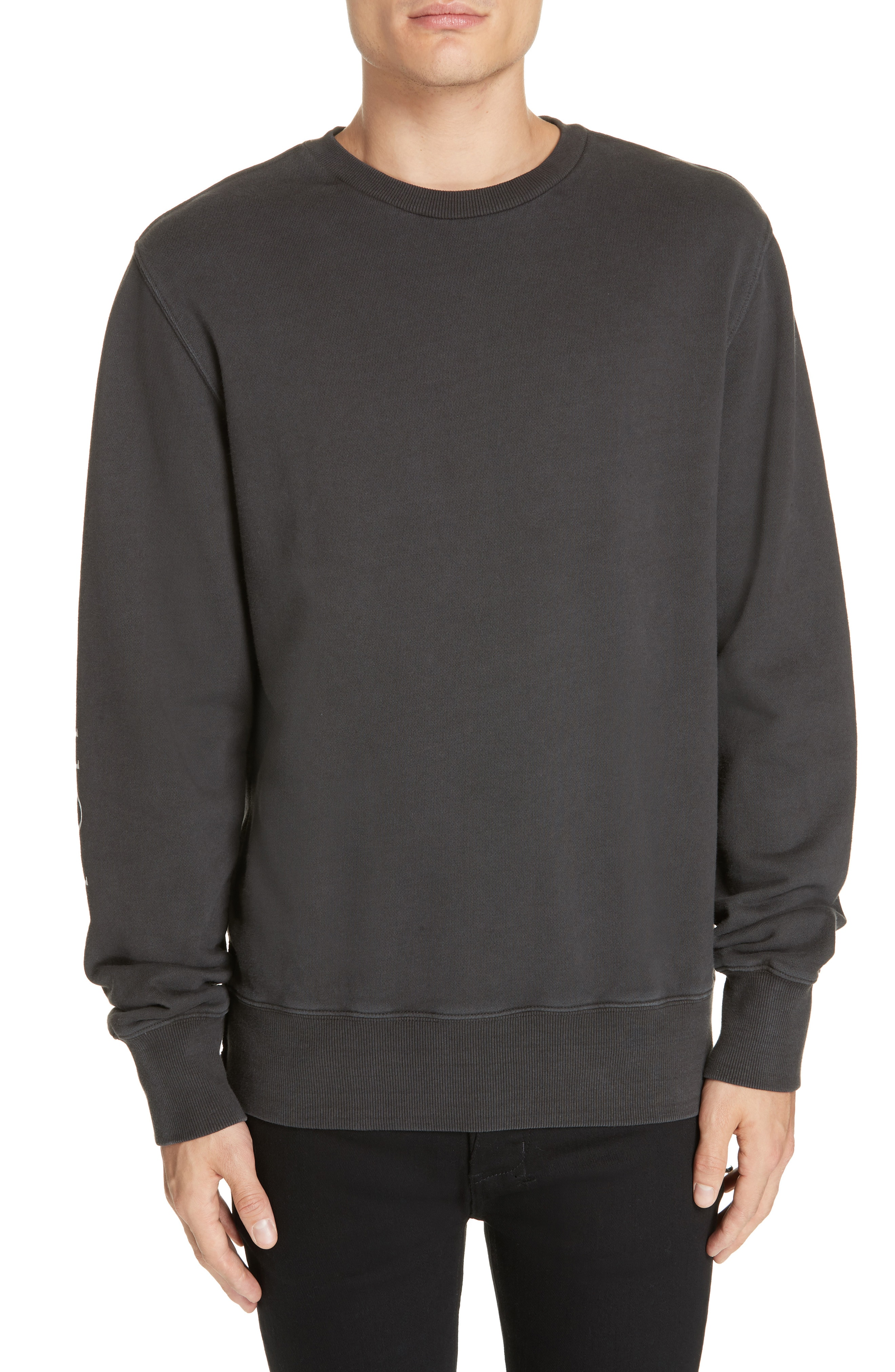 Ksubi Whurld Order Graphic Sweatshirt