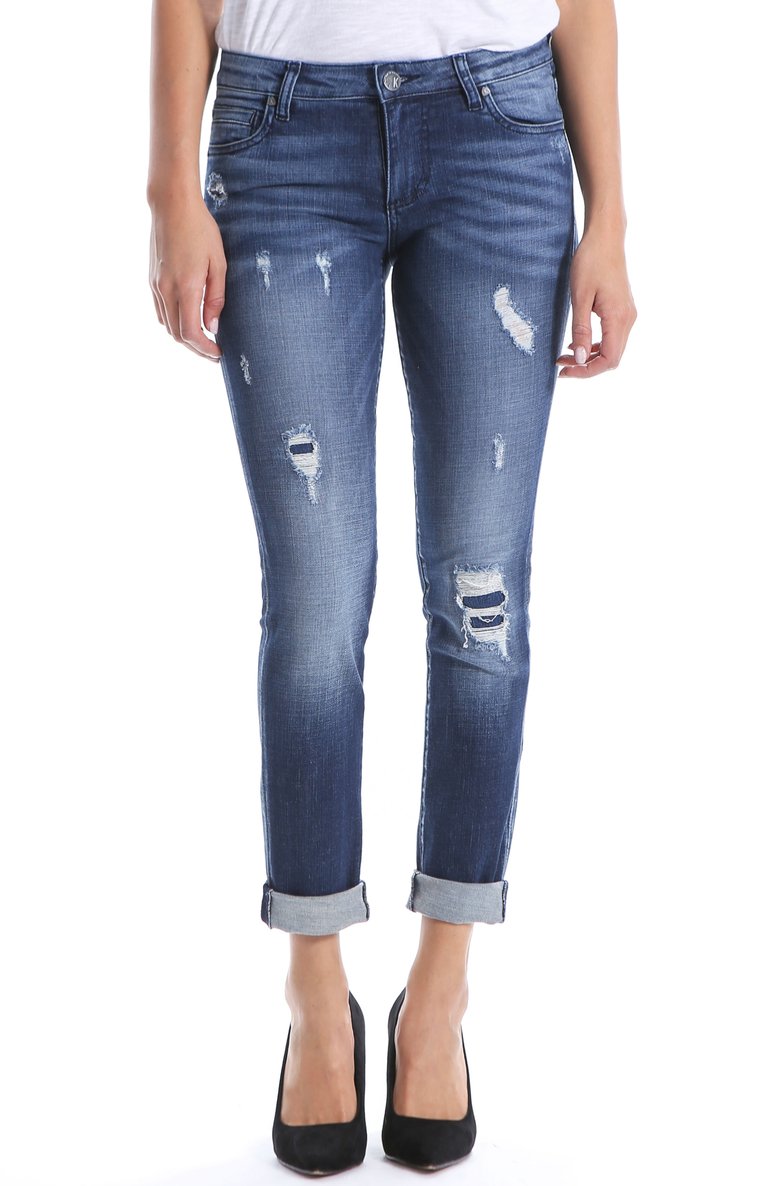 Kut from the Kloth Catherine Boyfriend Jeans (Empathic)