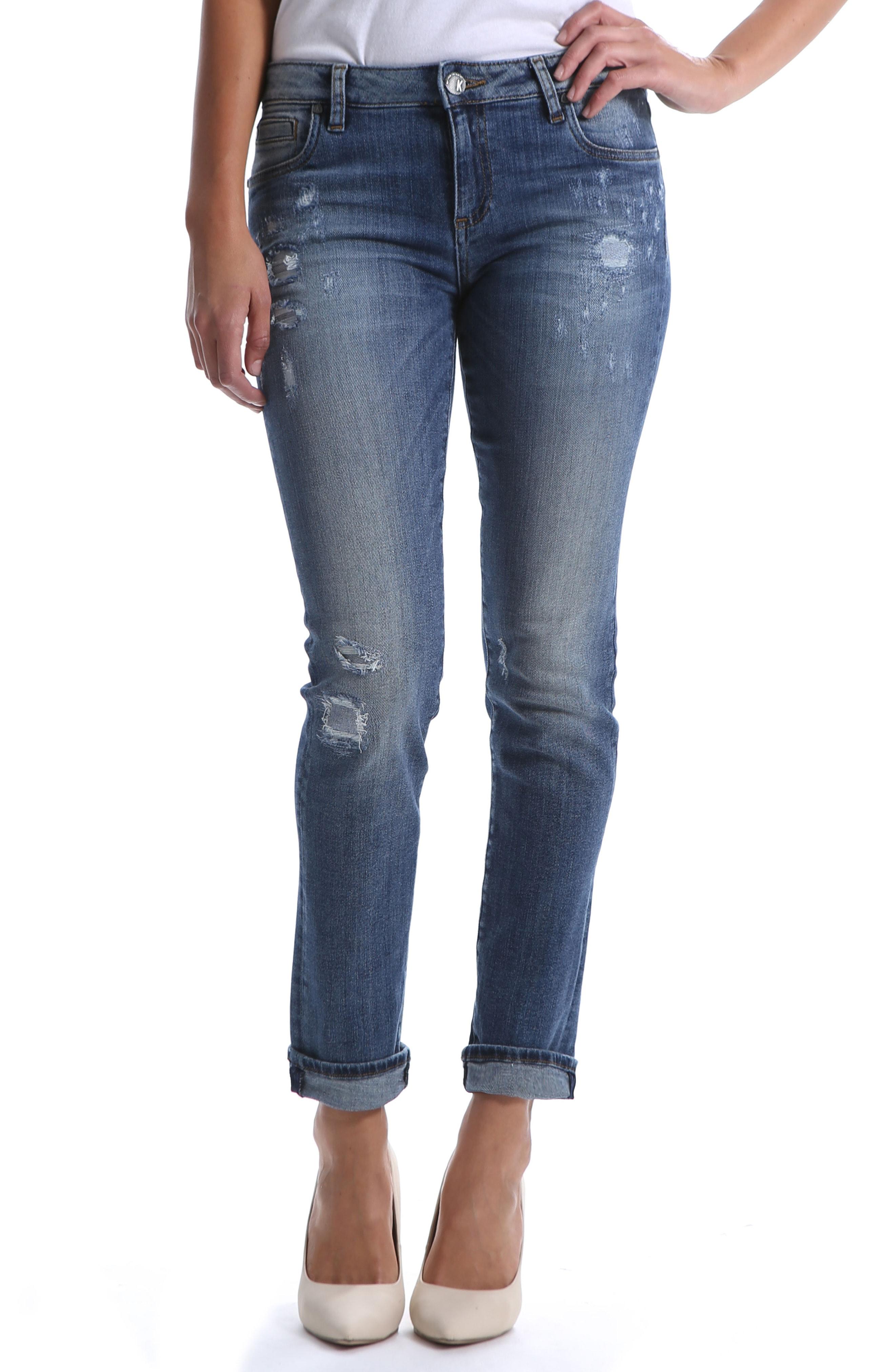 Kut from the Kloth Catherine Boyfriend Jeans (Hearten)