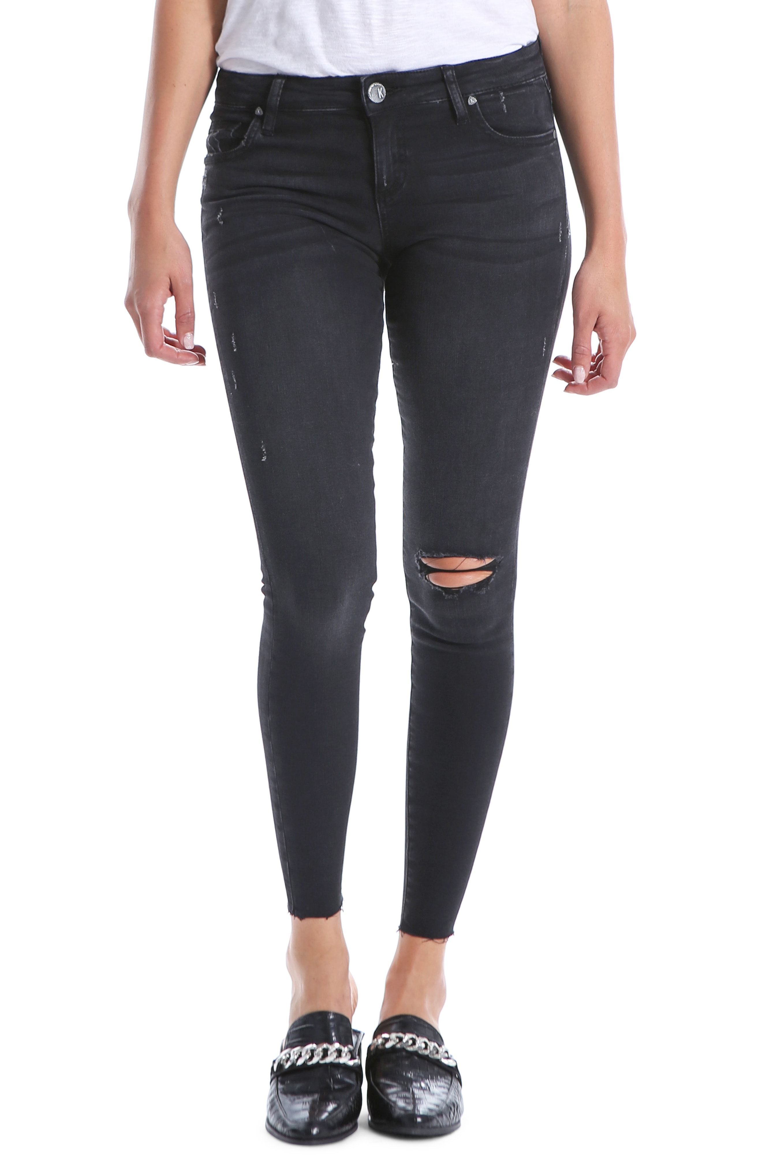 KUT from the Kloth Connie Ankle Skinny Jeans (Ideal)