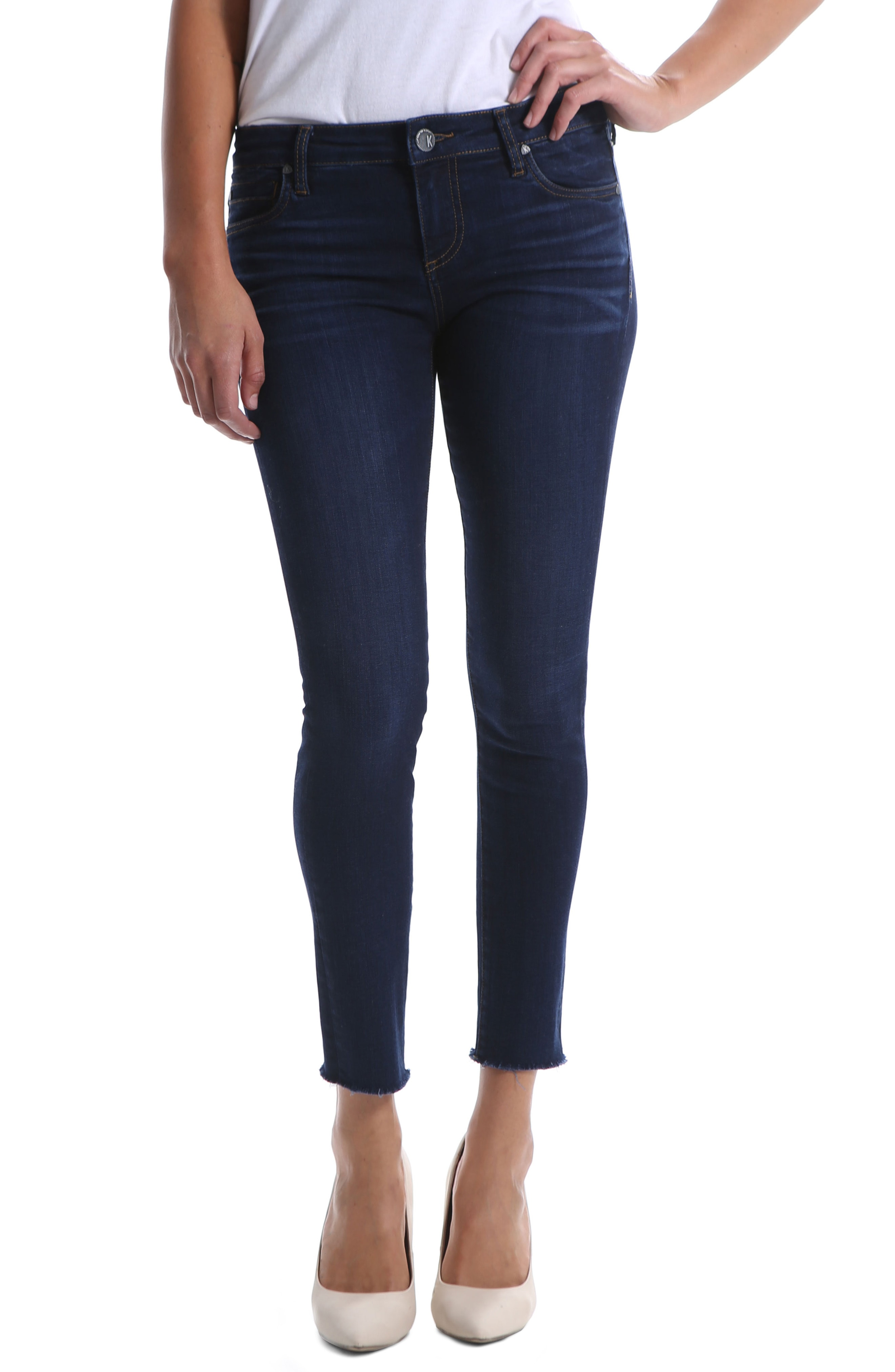 KUT from the Kloth Connie Ankle Skinny Jeans (Pamper)