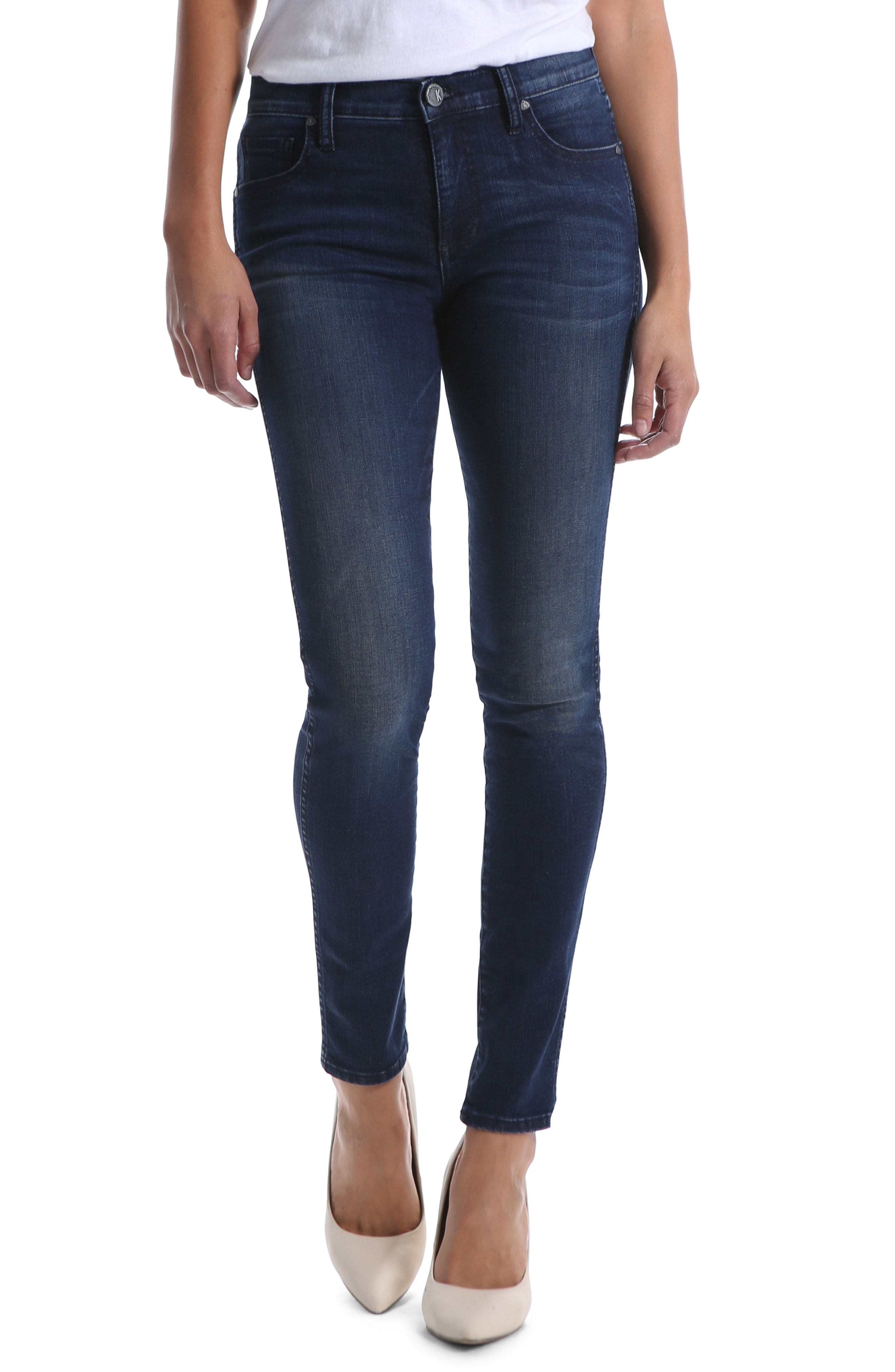 KUT from the Kloth Diana Fab Ab Fit Solution Skinny Jeans (Hold)
